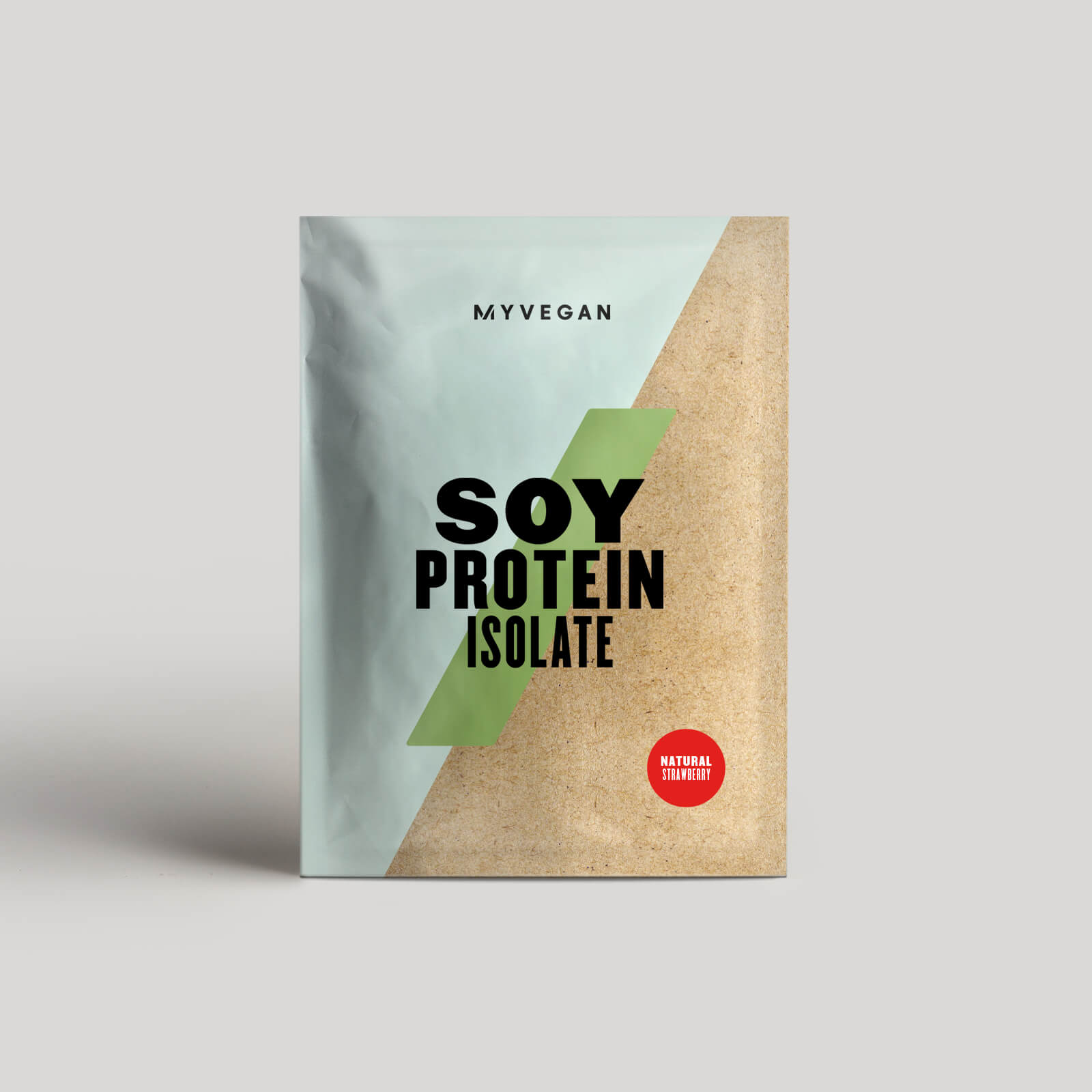 Isolat de protéine de soja (Énchantillon) - 30g - Fraise Naturelle