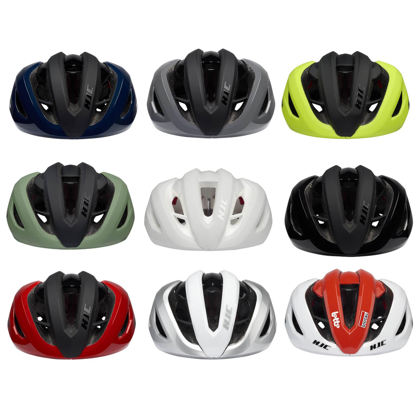 Hjc Valeco Road Helmet - L - Matt Gloss Off White