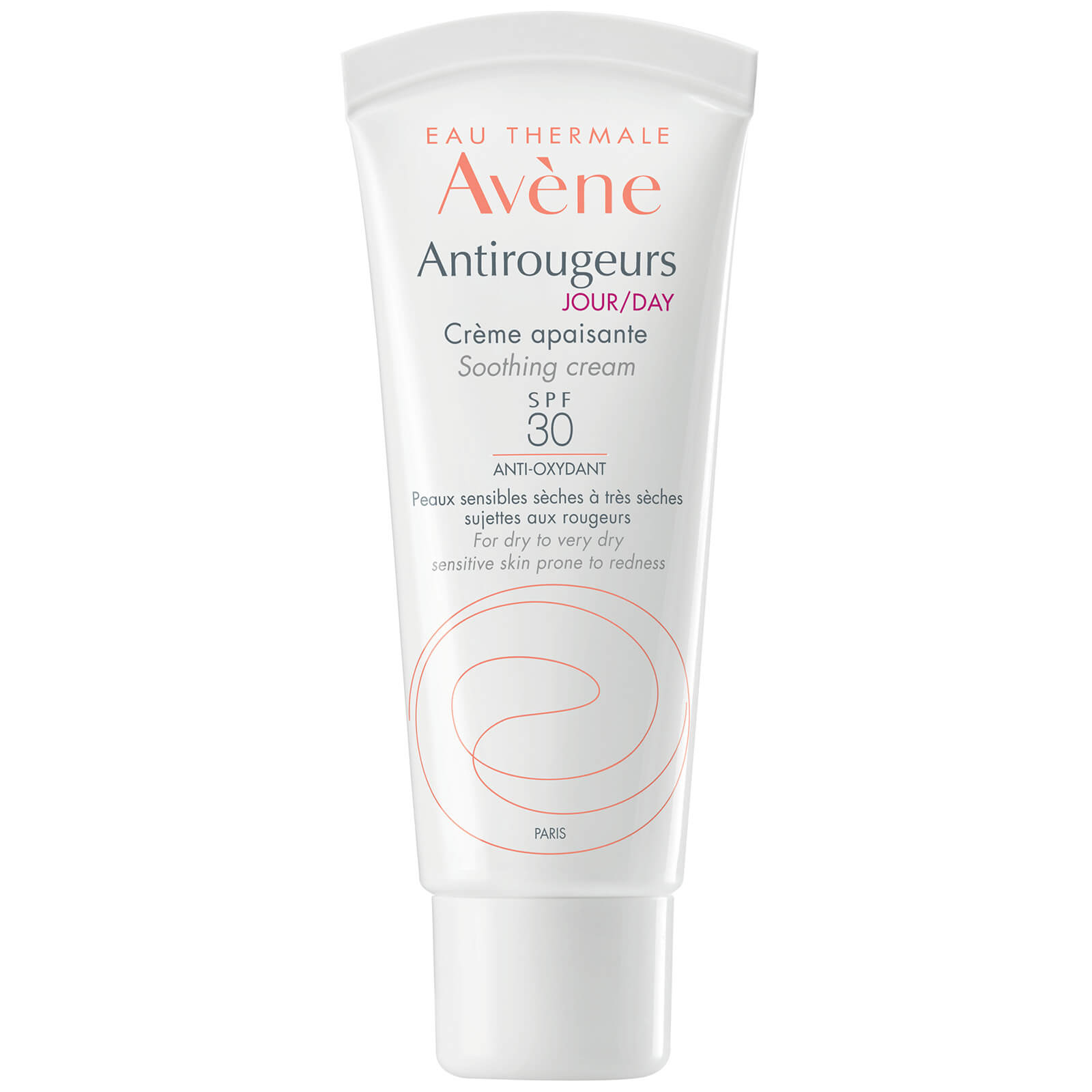 Avène Antirougeurs Day Cream SPF30 Moisturiser for Skin Prone to Redness 40ml