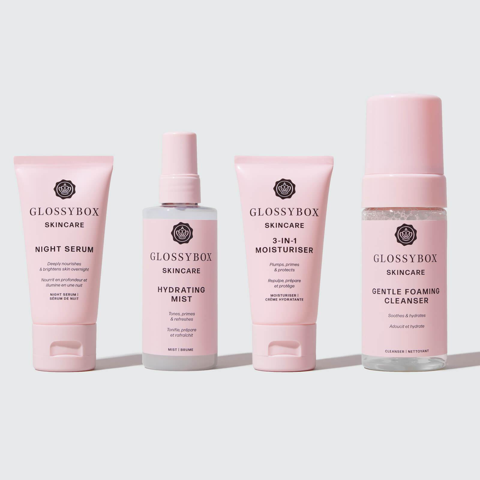 Glossy Box coupon: GLOSSYBOX Skincare Hydrate & Cleanse Bundle (Worth $88.00)