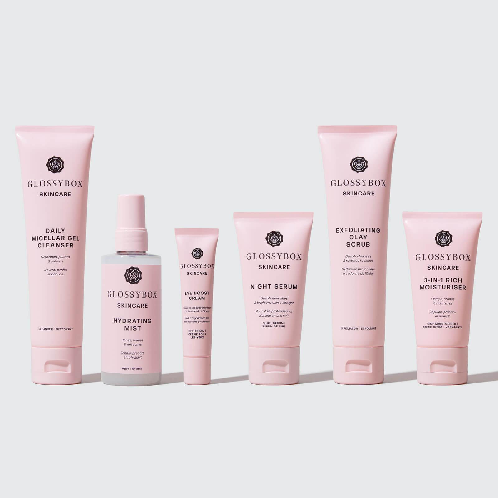Glossy Box coupon: GLOSSYBOX Skincare Dry Skin Bundle (Worth $128.00)