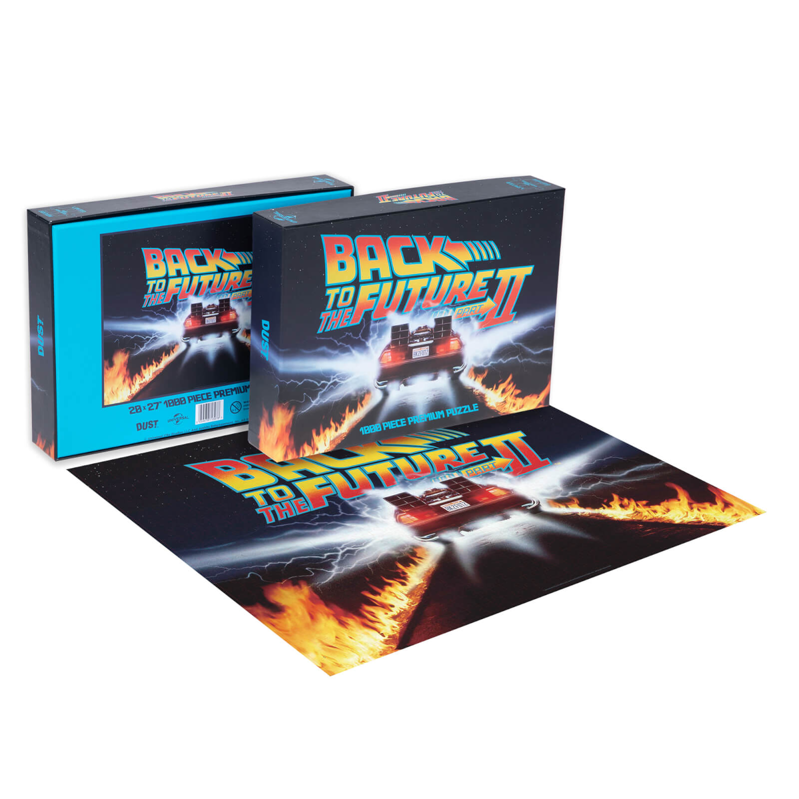 Image of Dust! Back To The Future 2 Great Scott 1000pc Puzzle - Zavvi Exclusive