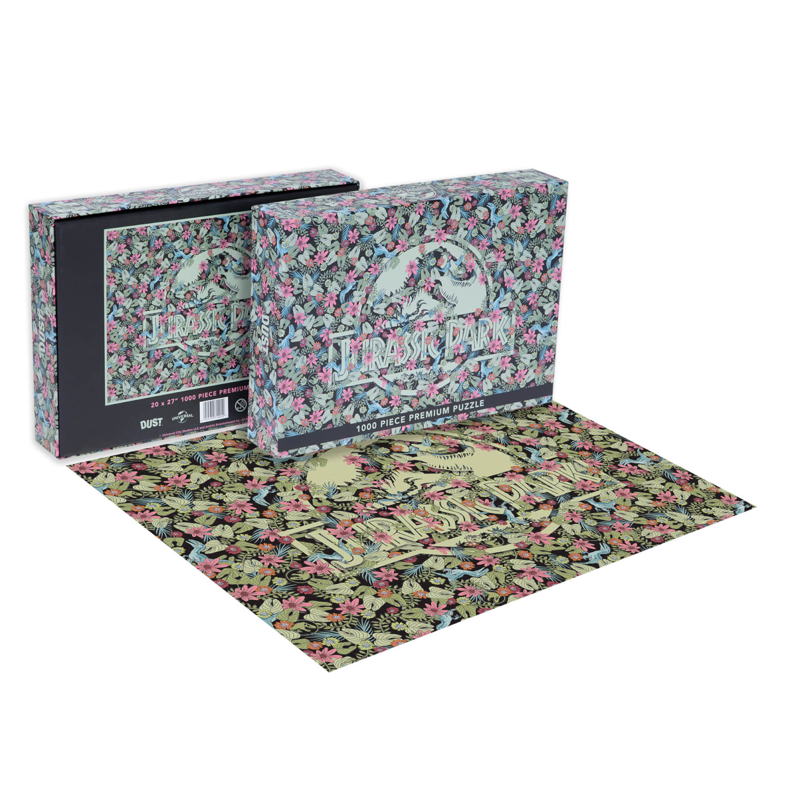 Image of Dust! Jurassic Park Clever Girl Impossible 1000pc Puzzle - Zavvi Exclusive