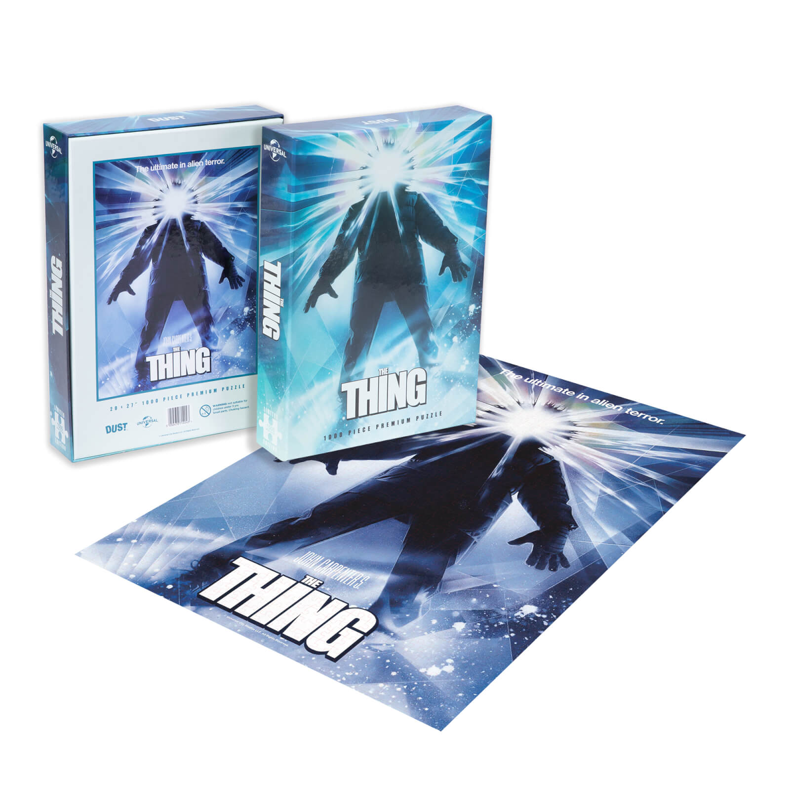 Image of Dust! The Thing Classic Movie Poster 1000pc Puzzle - Zavvi Exclusive