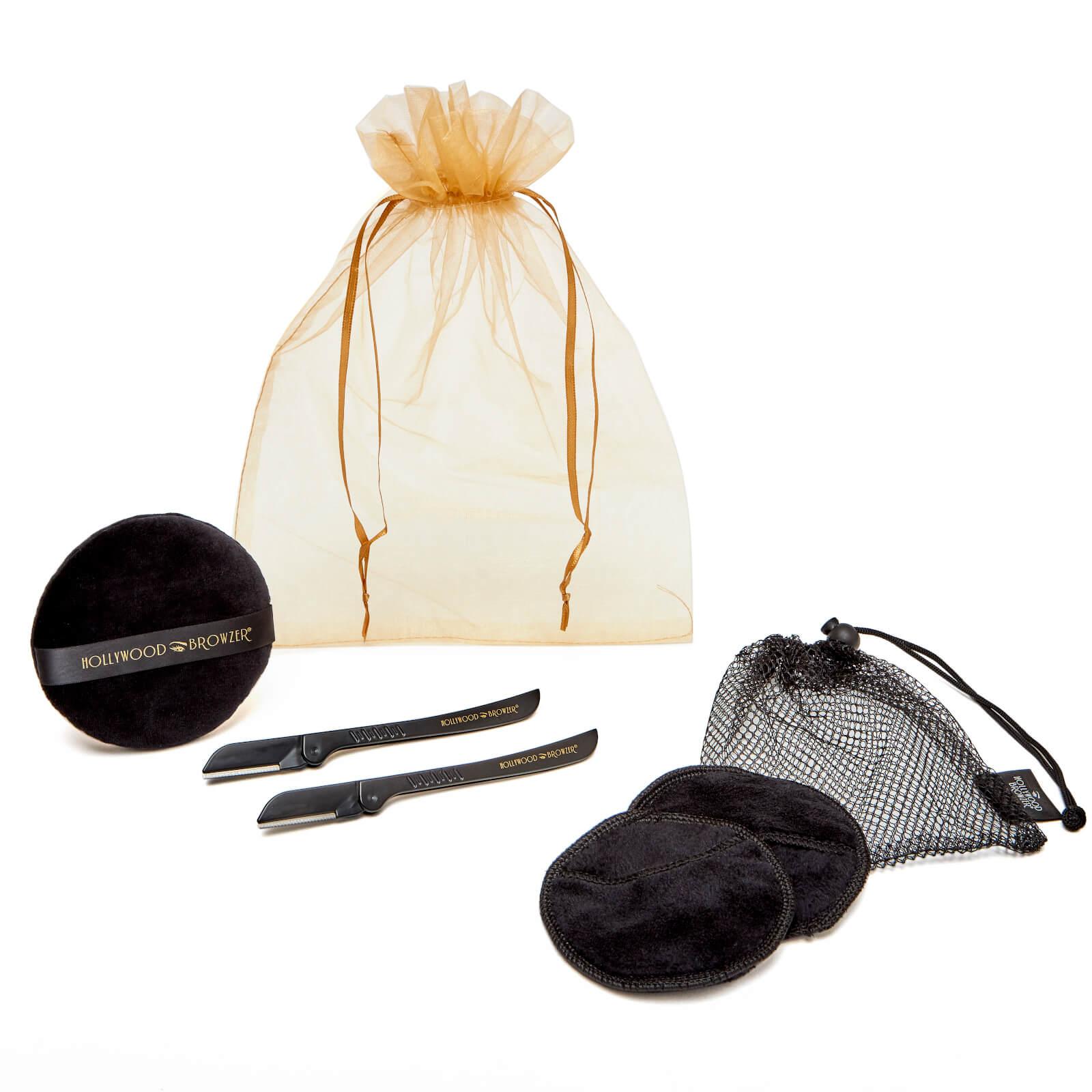 Купить Hollywood Browzer Dermaplaning Facial Kit Duo - Black