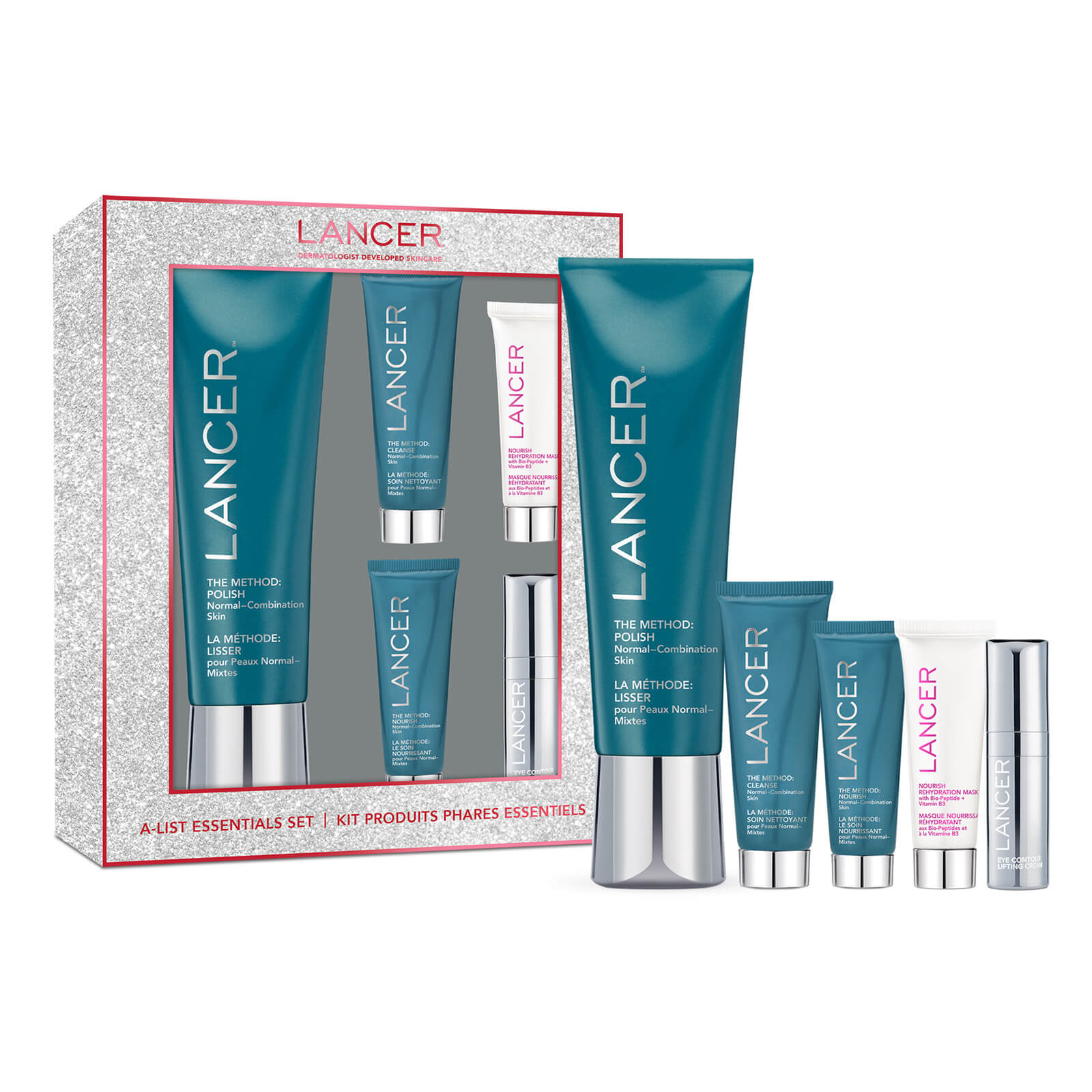 Lancer A-List Essentials 5-Piece Set (Worth £134.00)