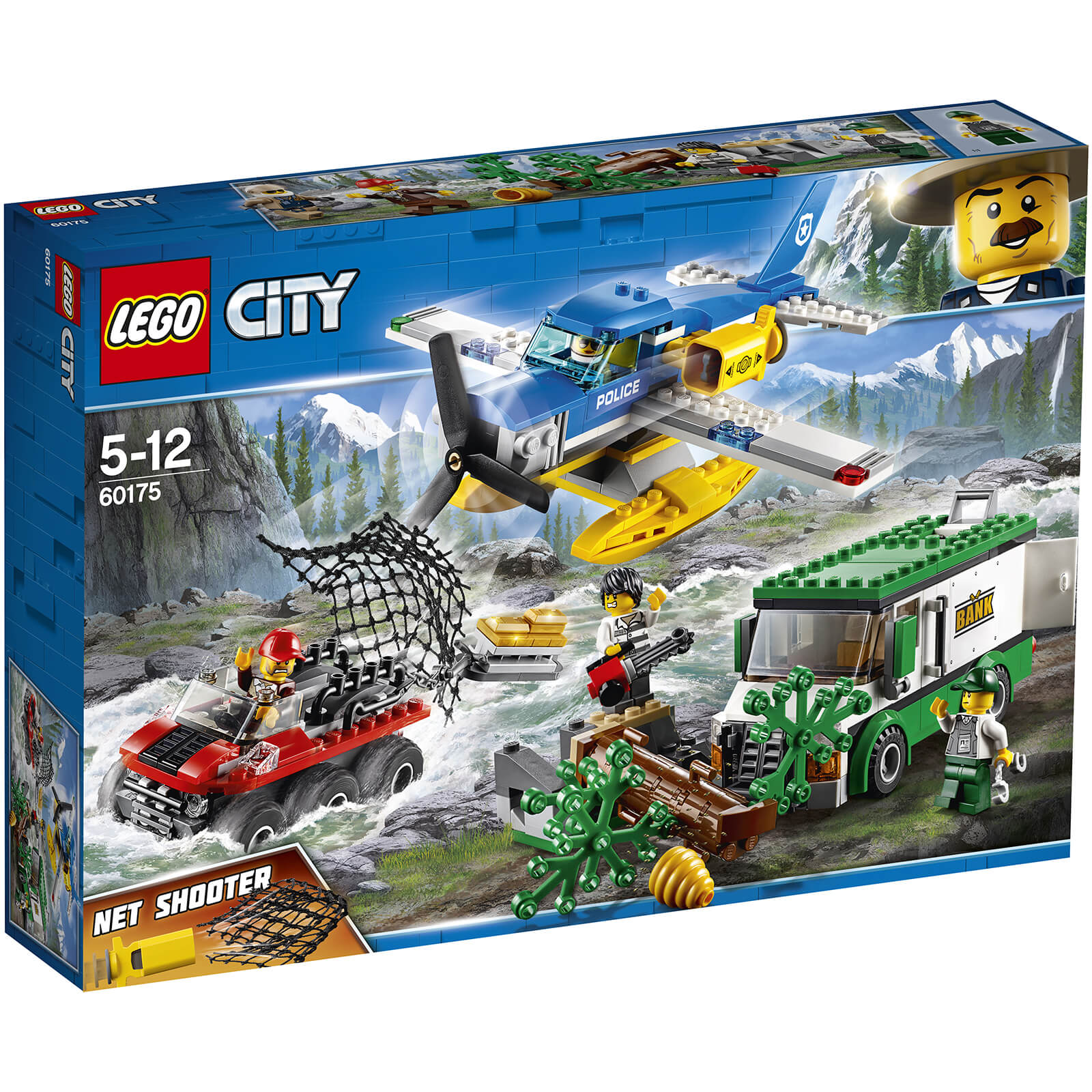 LEGO City: Mountain River Heist Building Set (60175)