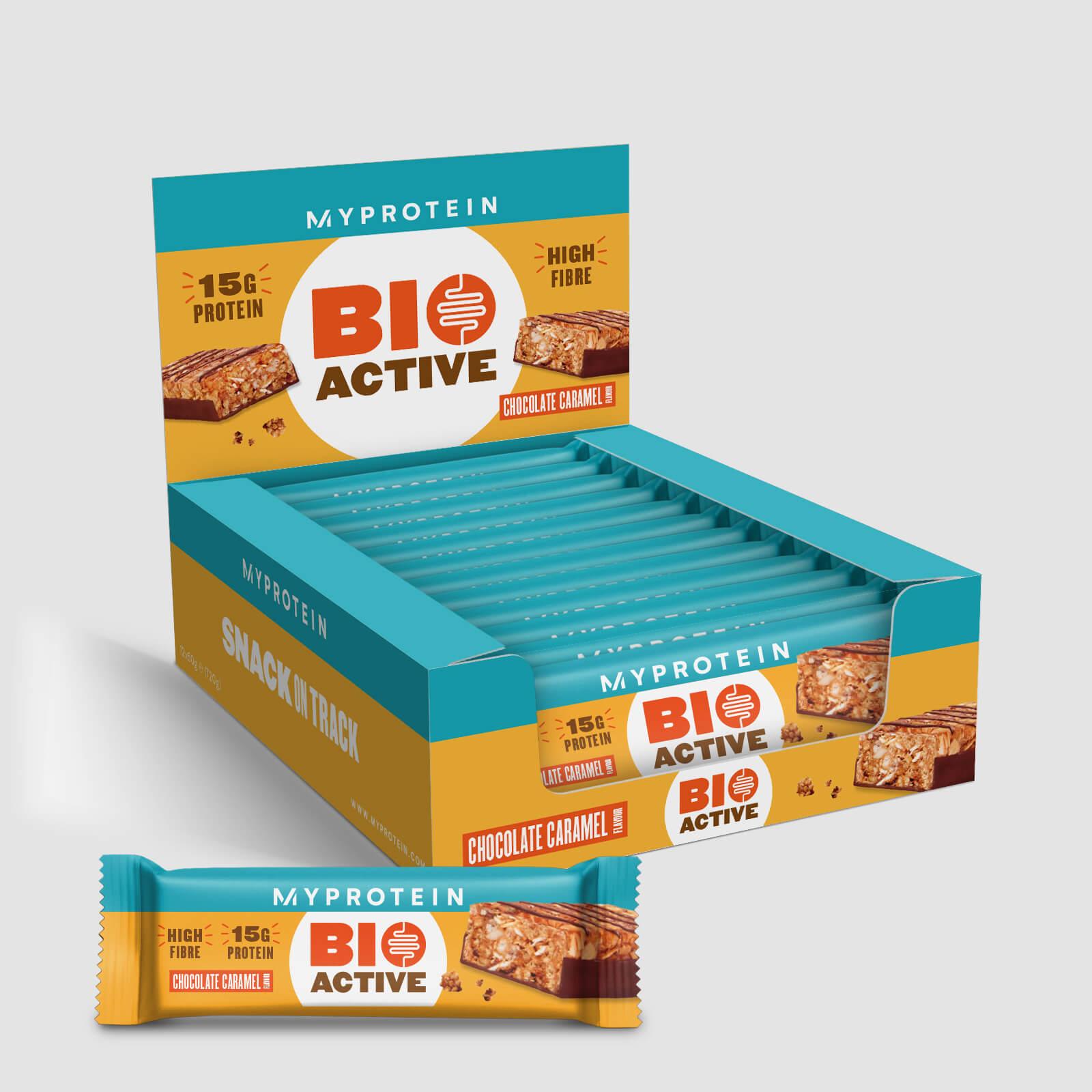 Батончик Bioactive - 12 x 60g - Шоколадная карамель