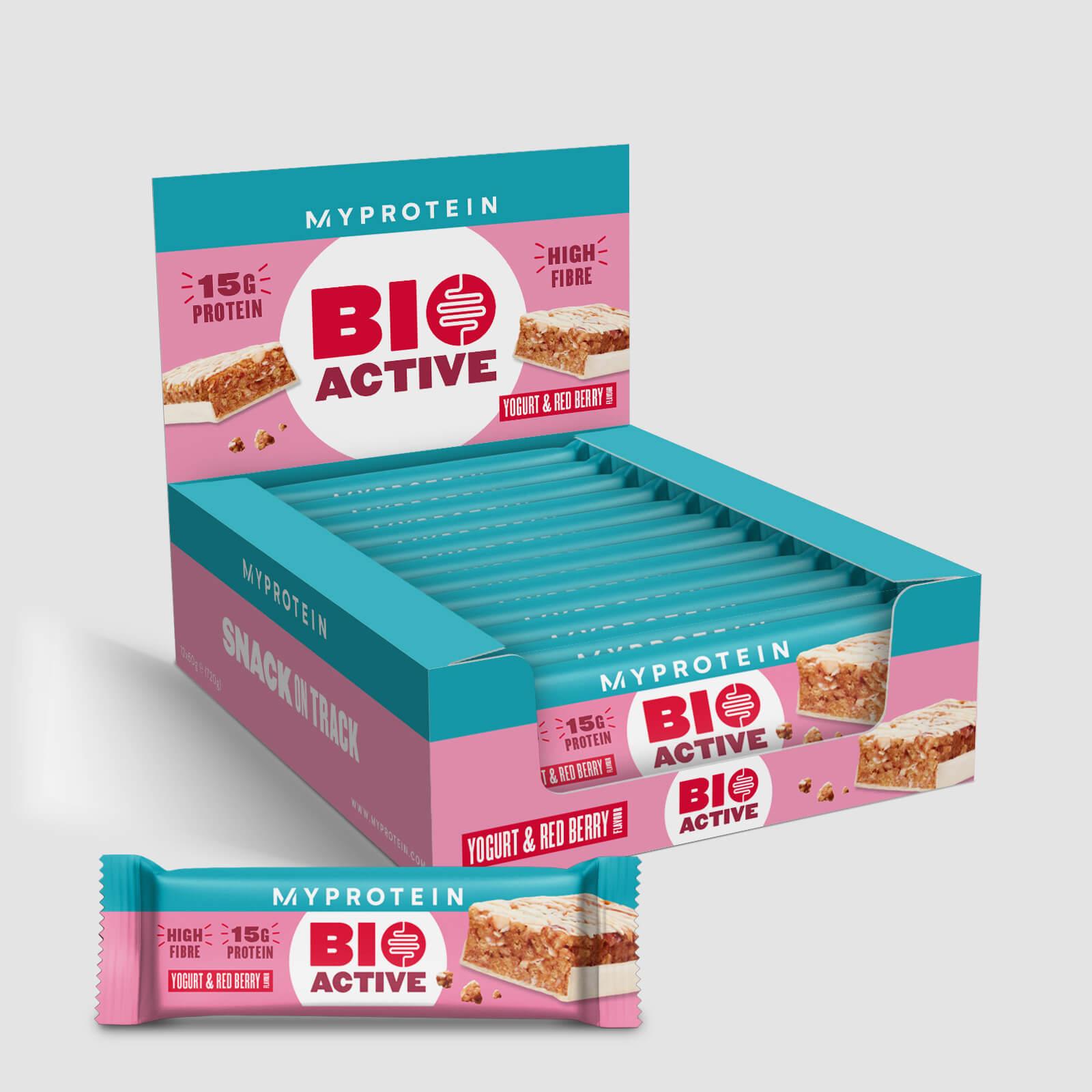 Батончик Bioactive - 12 x 60g - Yoghurt & Red Fruit