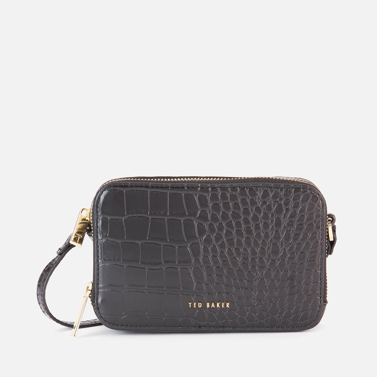 Ted Baker Women's Stina Double Zip Mini Camera Bag - Black