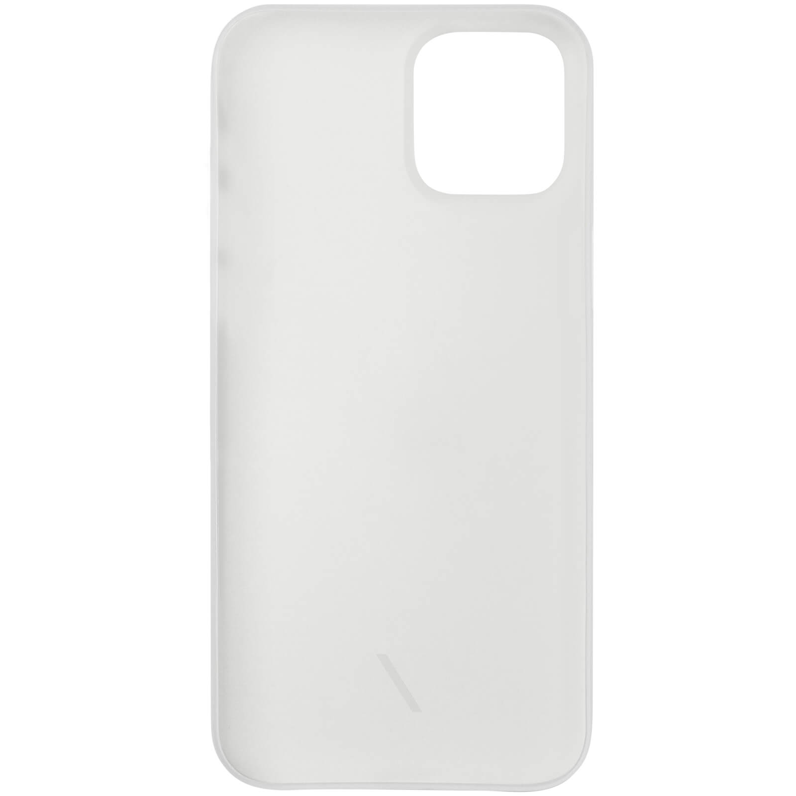 Native Union Clic Air Anti-Bacterial iPhone Case - Frost - 12 Pro Max
