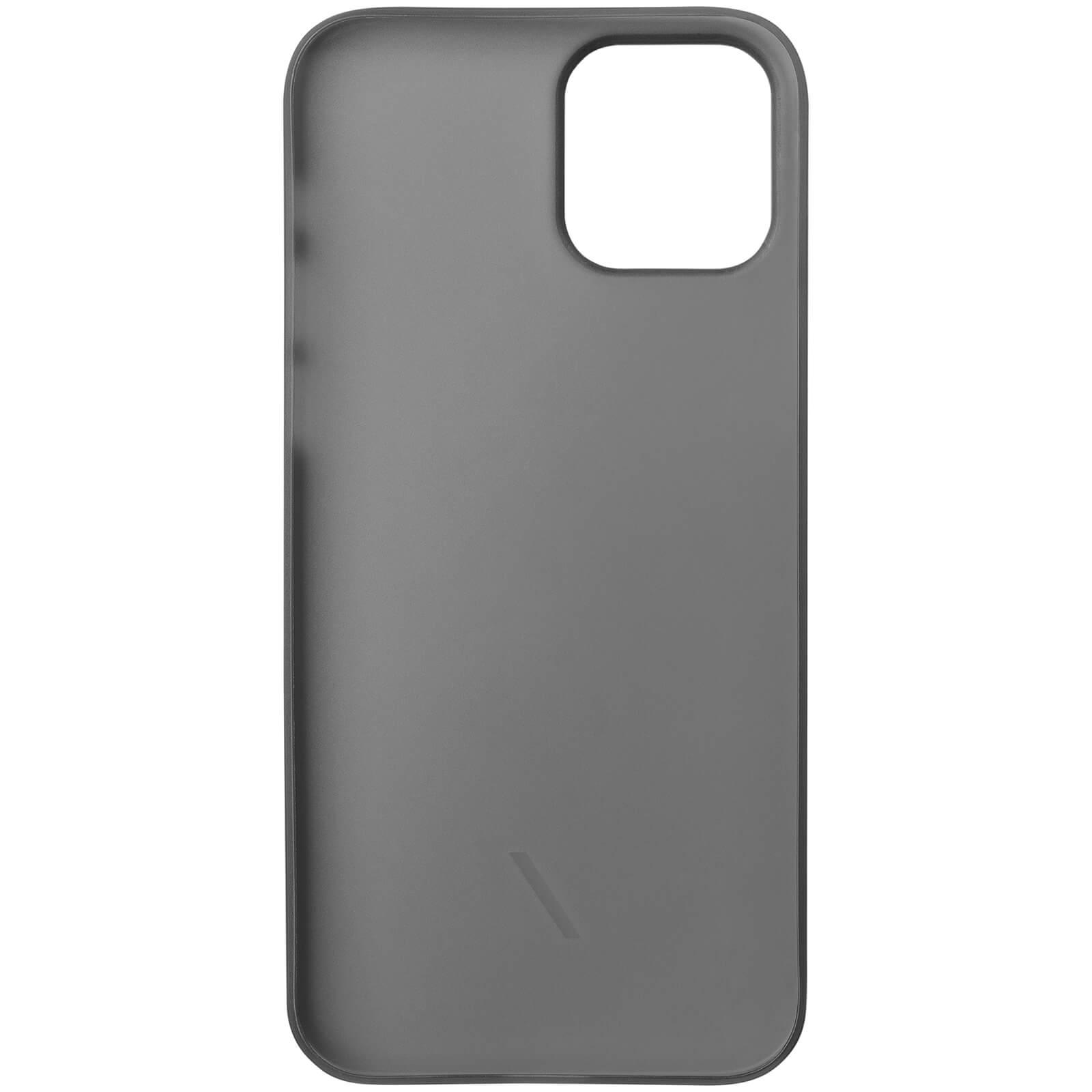 Native Union Clic Air Anti-Bacterial iPhone Case - Smoke - 12 Mini