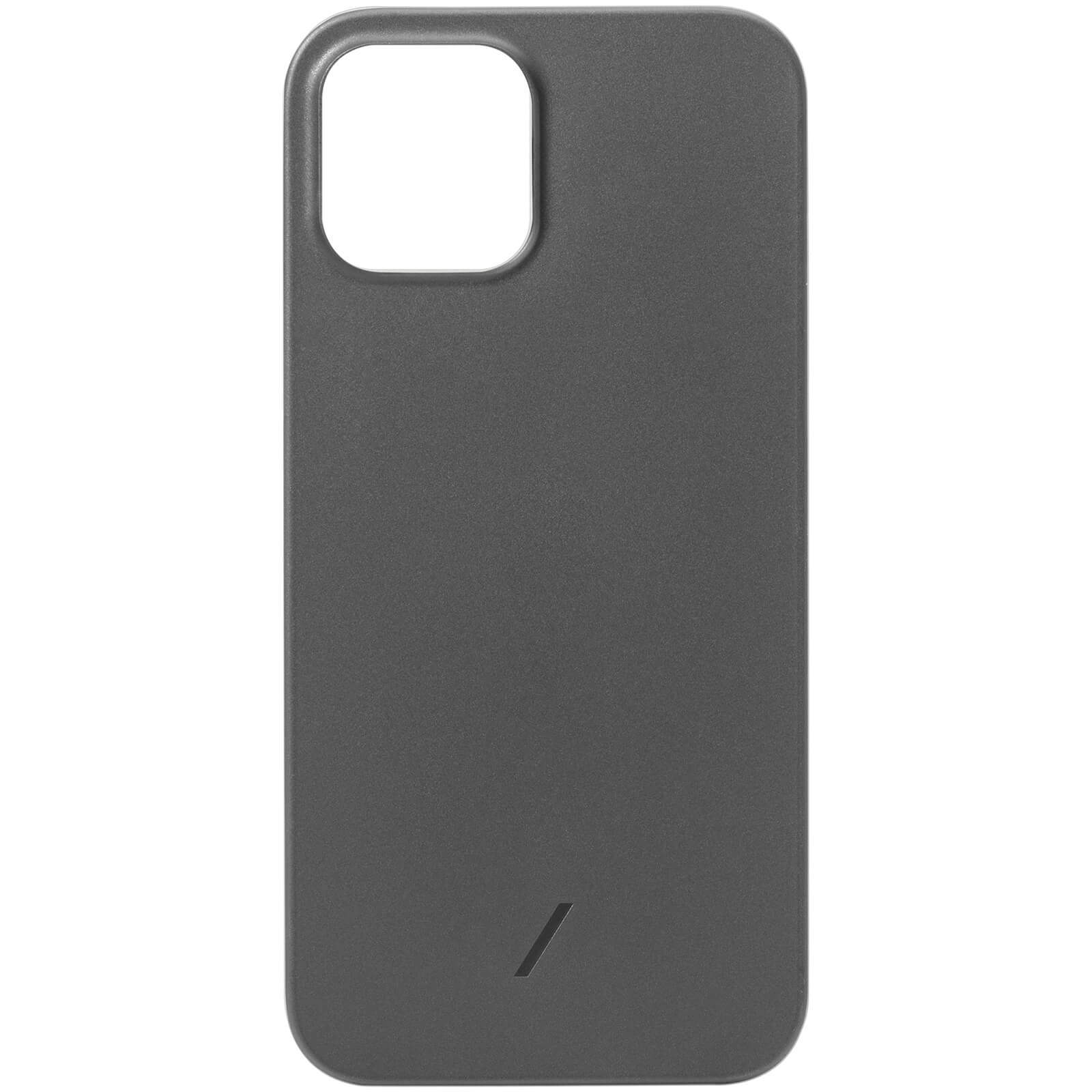 Native Union Clic Air Anti-Bacterial iPhone Case - Smoke - 12 Pro Max