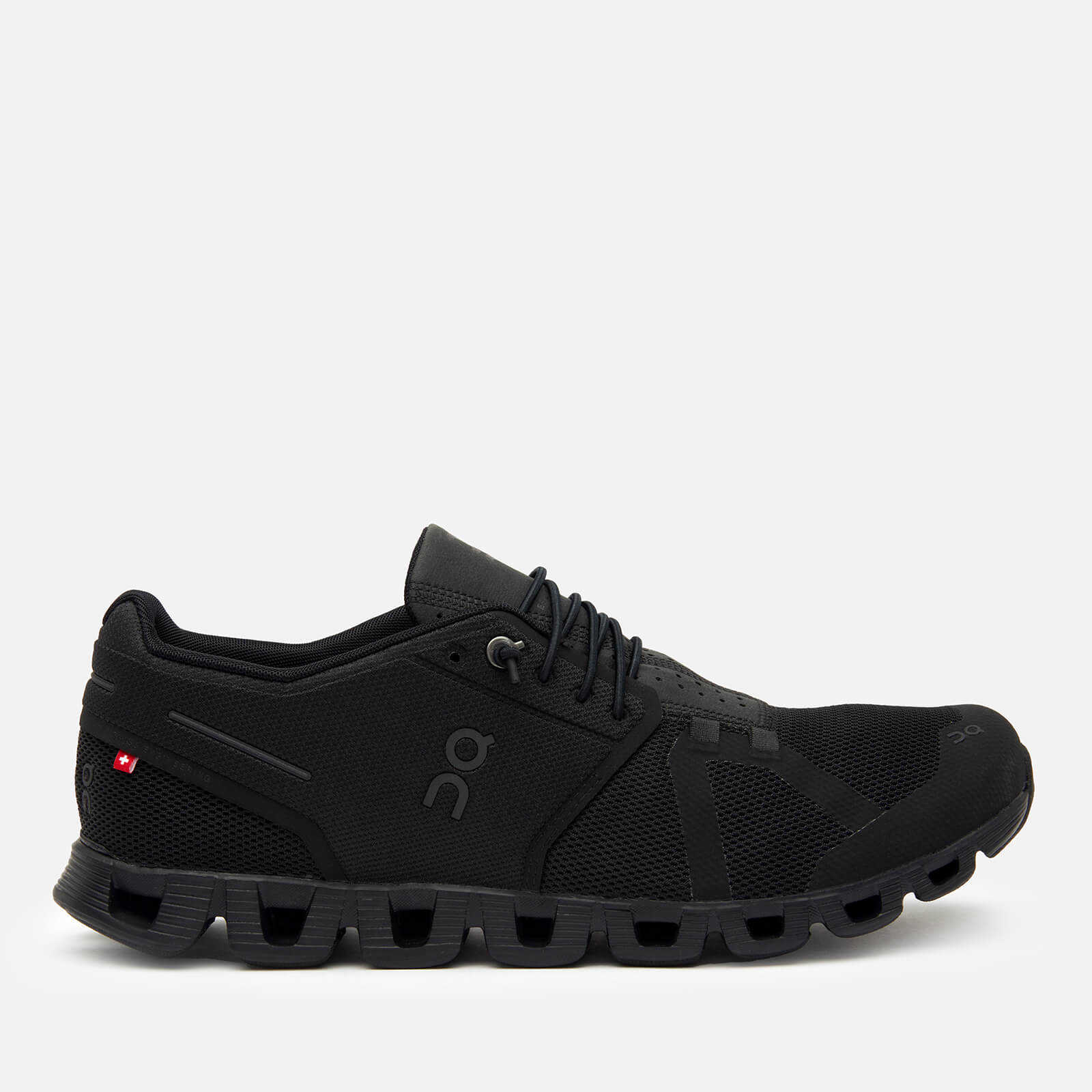 ON Men's Cloud Running Trainers - All Black - UK 7