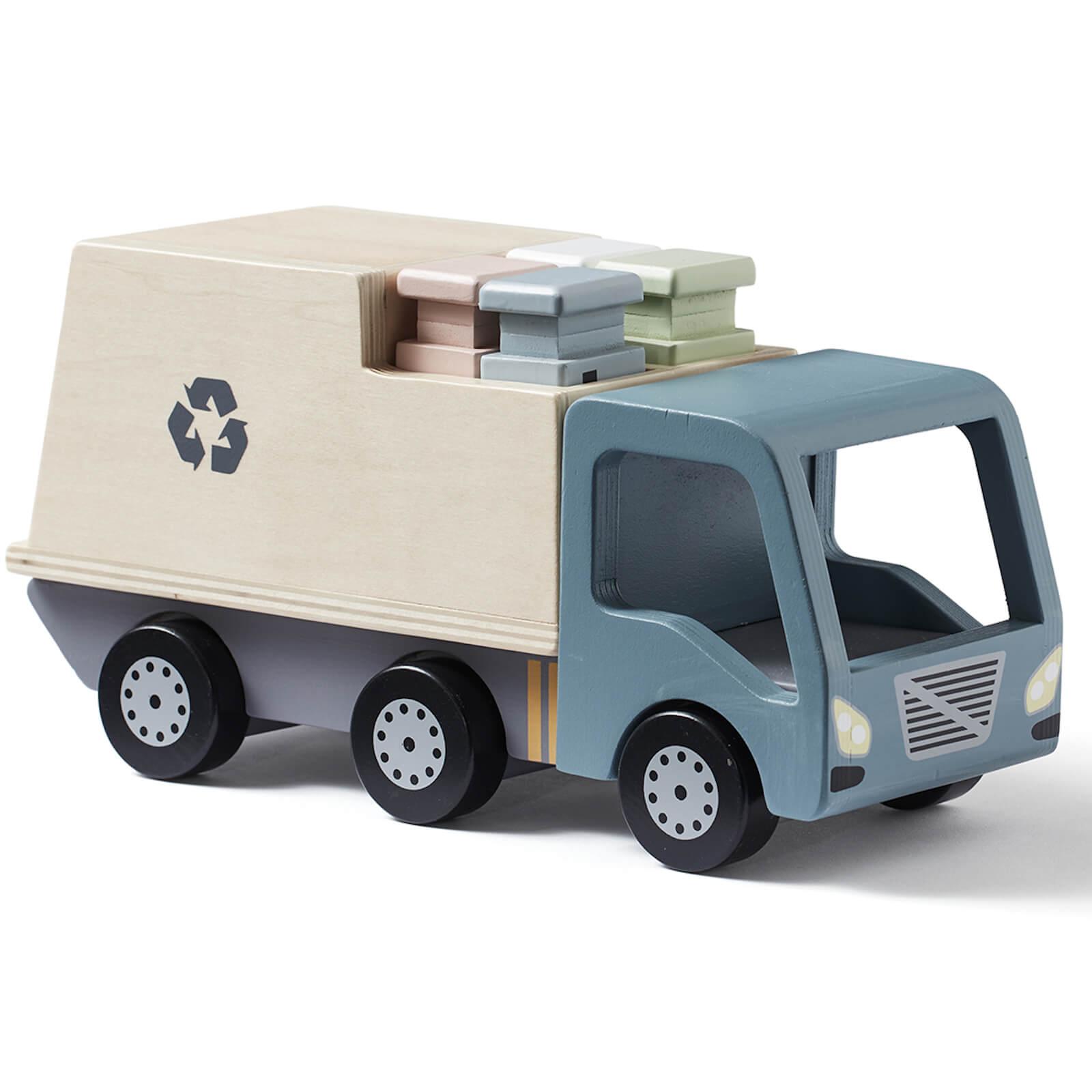 Kids Concept Garbage Truck - Grey