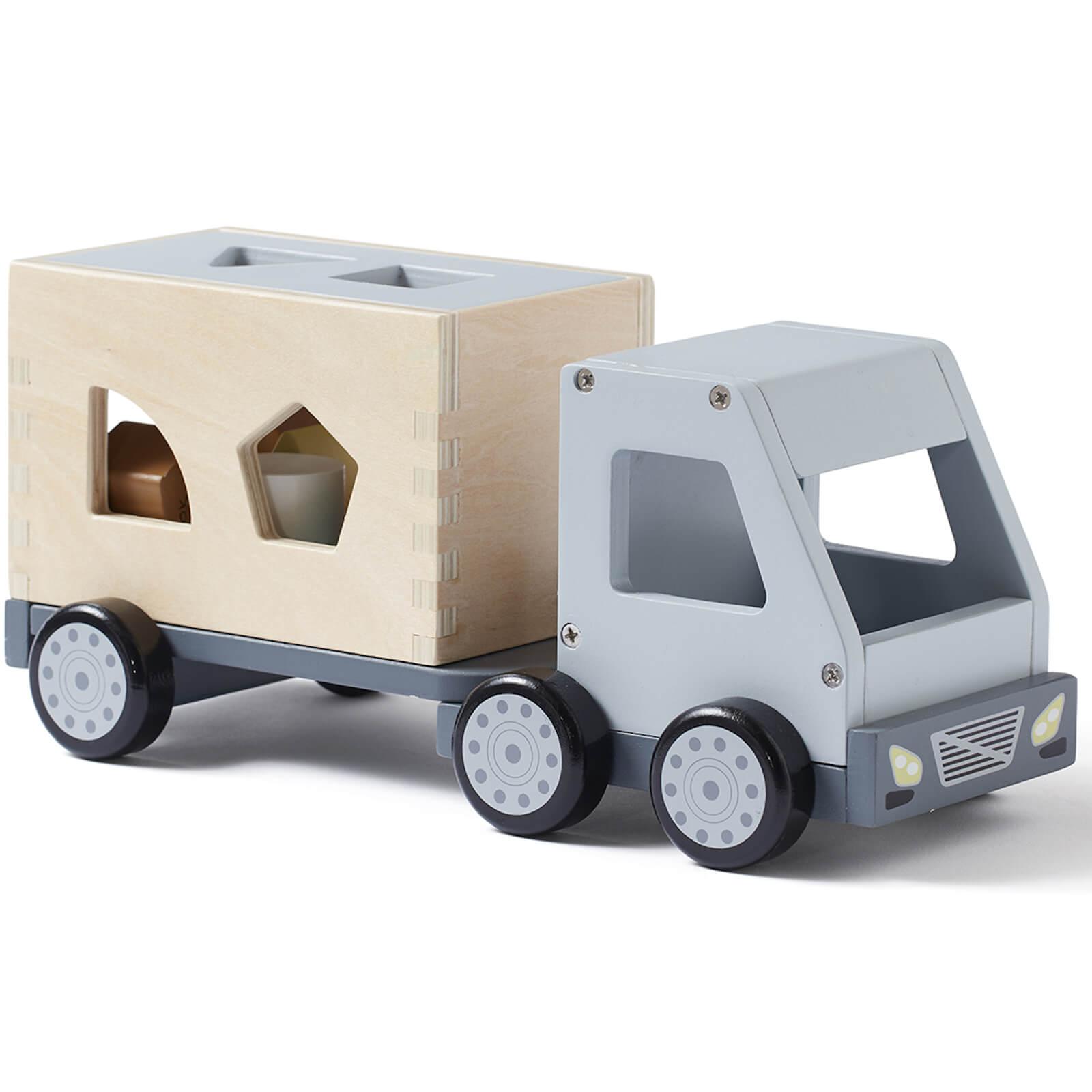 Kids Concept Sorter Truck - Grey