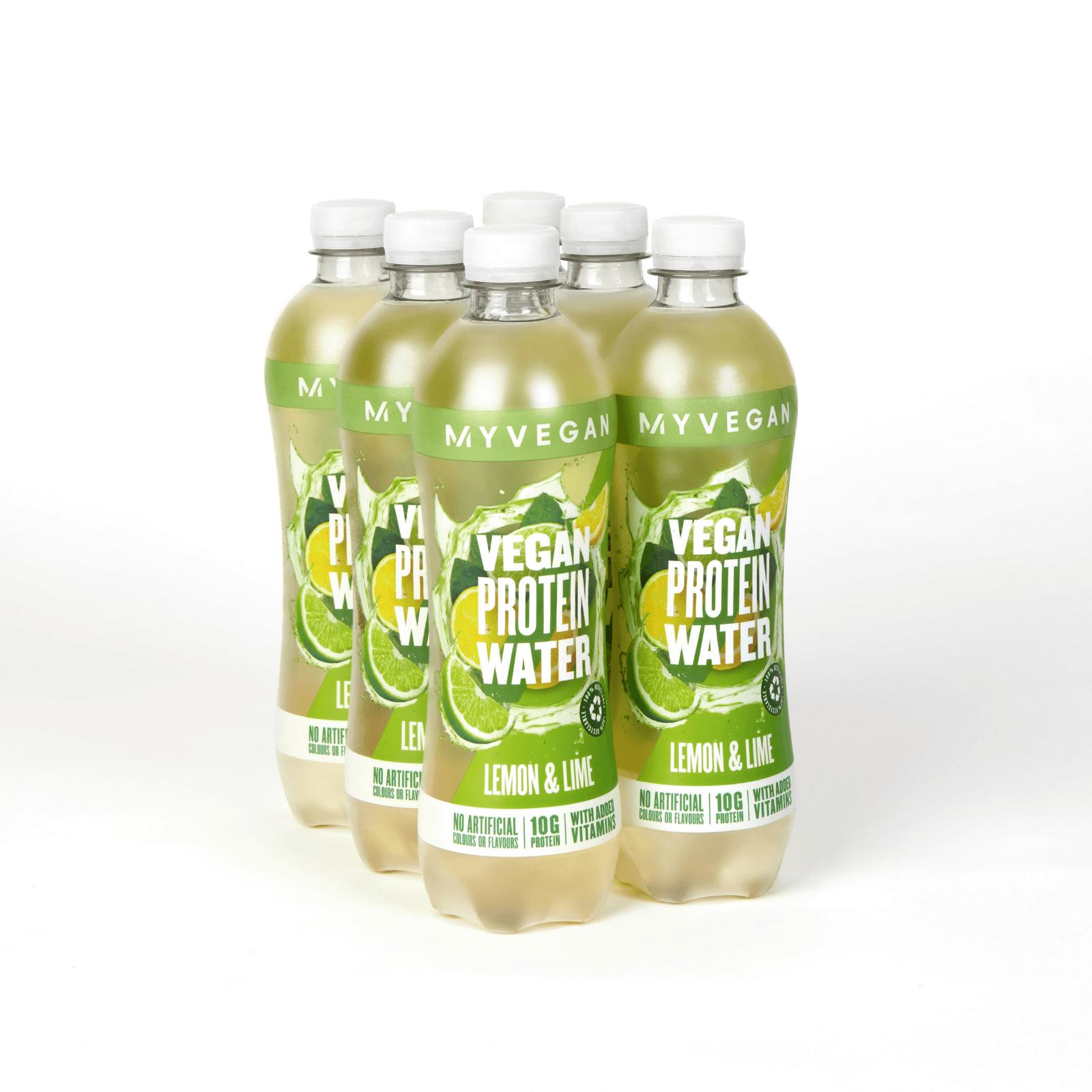 Eau protéinée Clear Vegan - 6 x 500ml - Bouteille - Lemon Lime