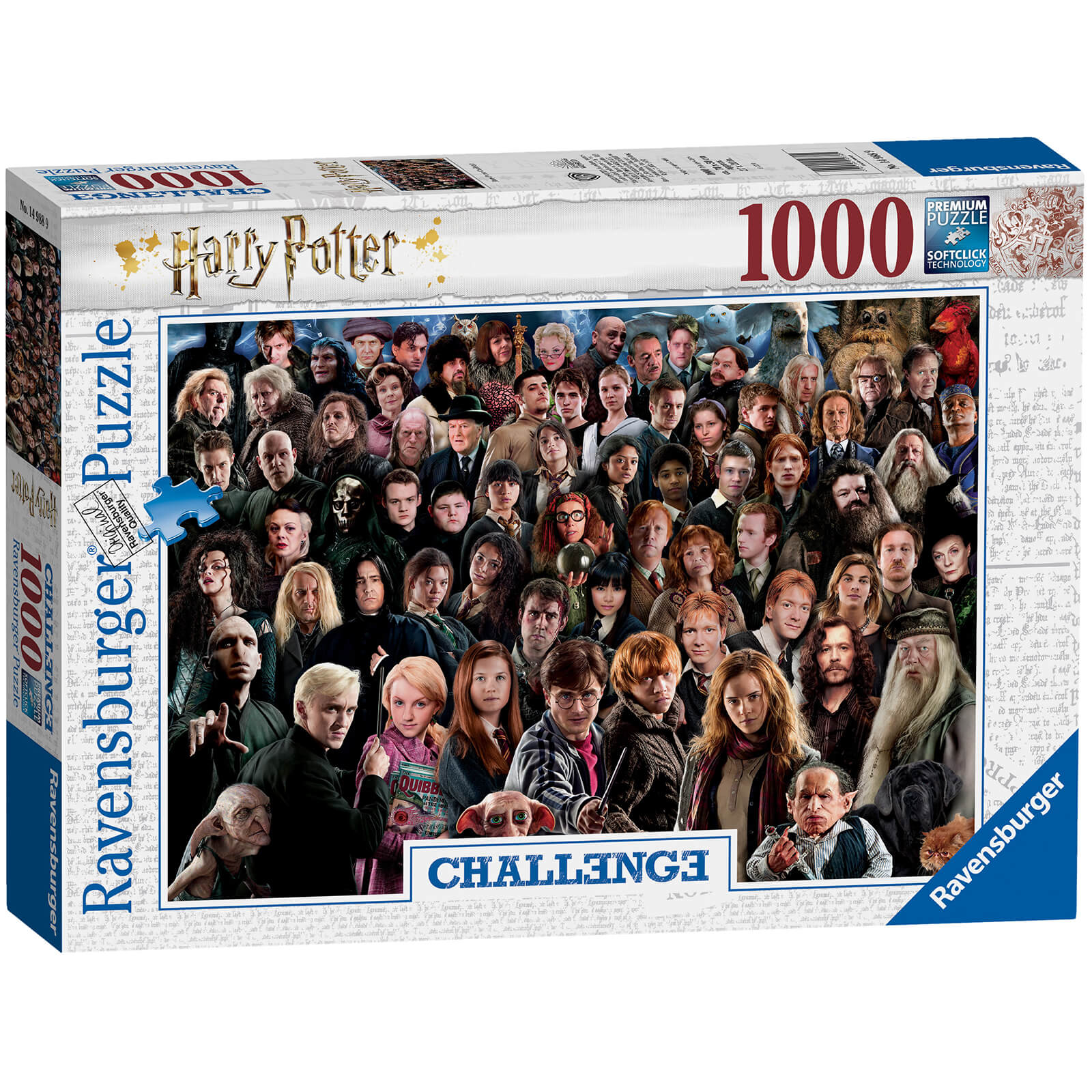 Image of Ravensburger Challenge - Harry Potter (1000 Pieces)