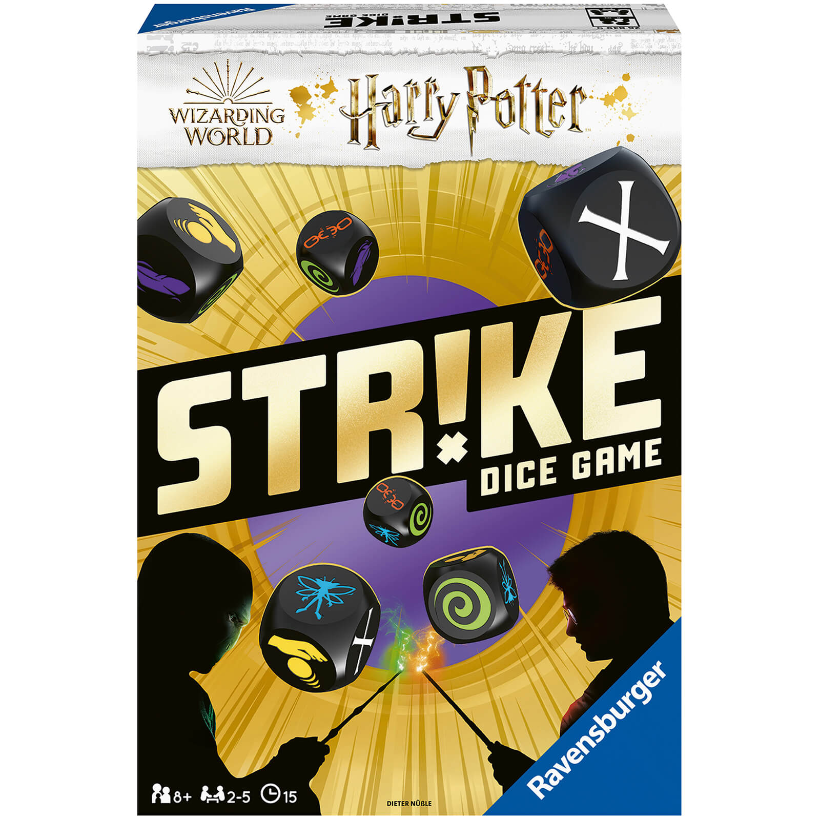 Image of Ravensburger Harry Potter Strike Dice Game
