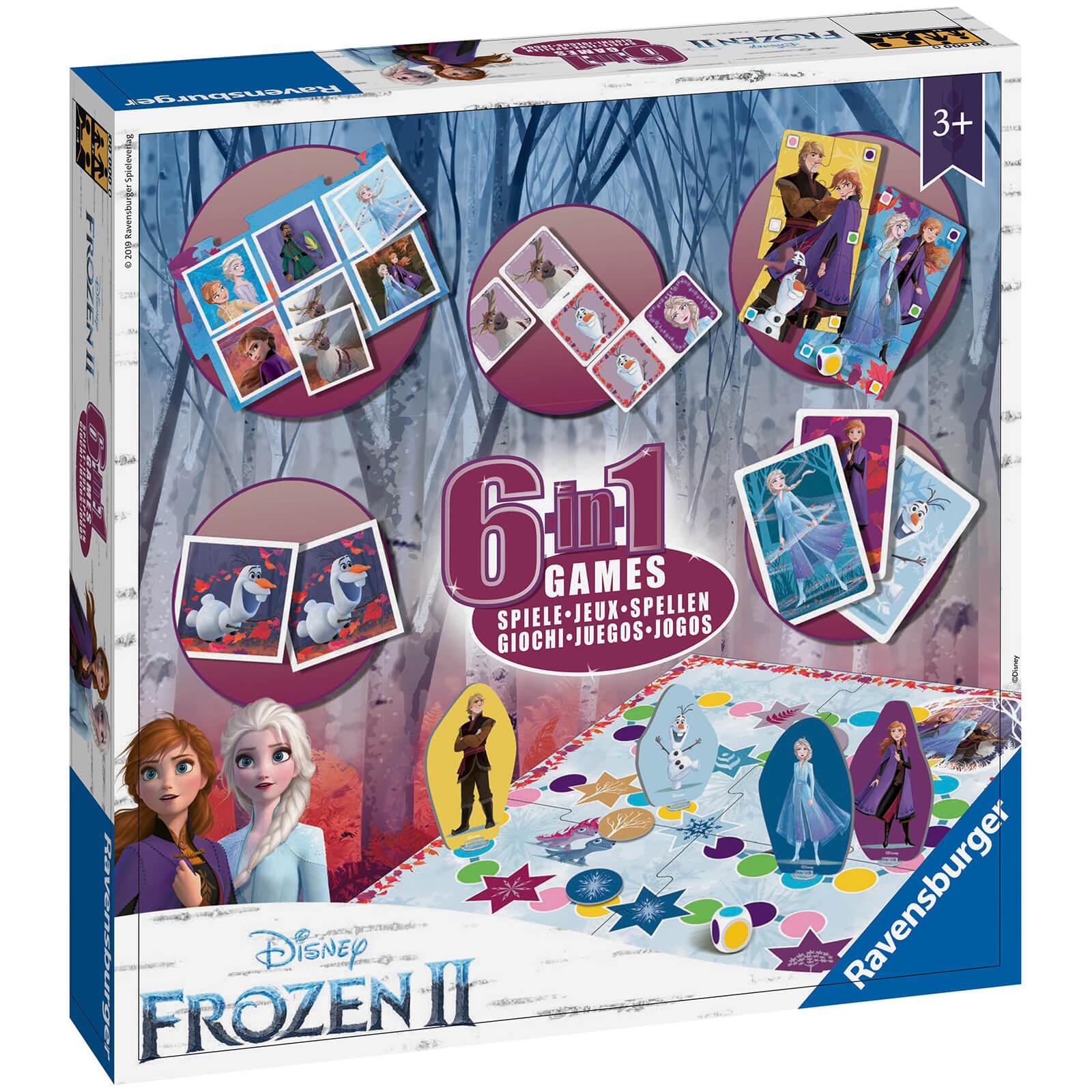 Ravensburger Frozen 2 – 6 in 1 Games Box