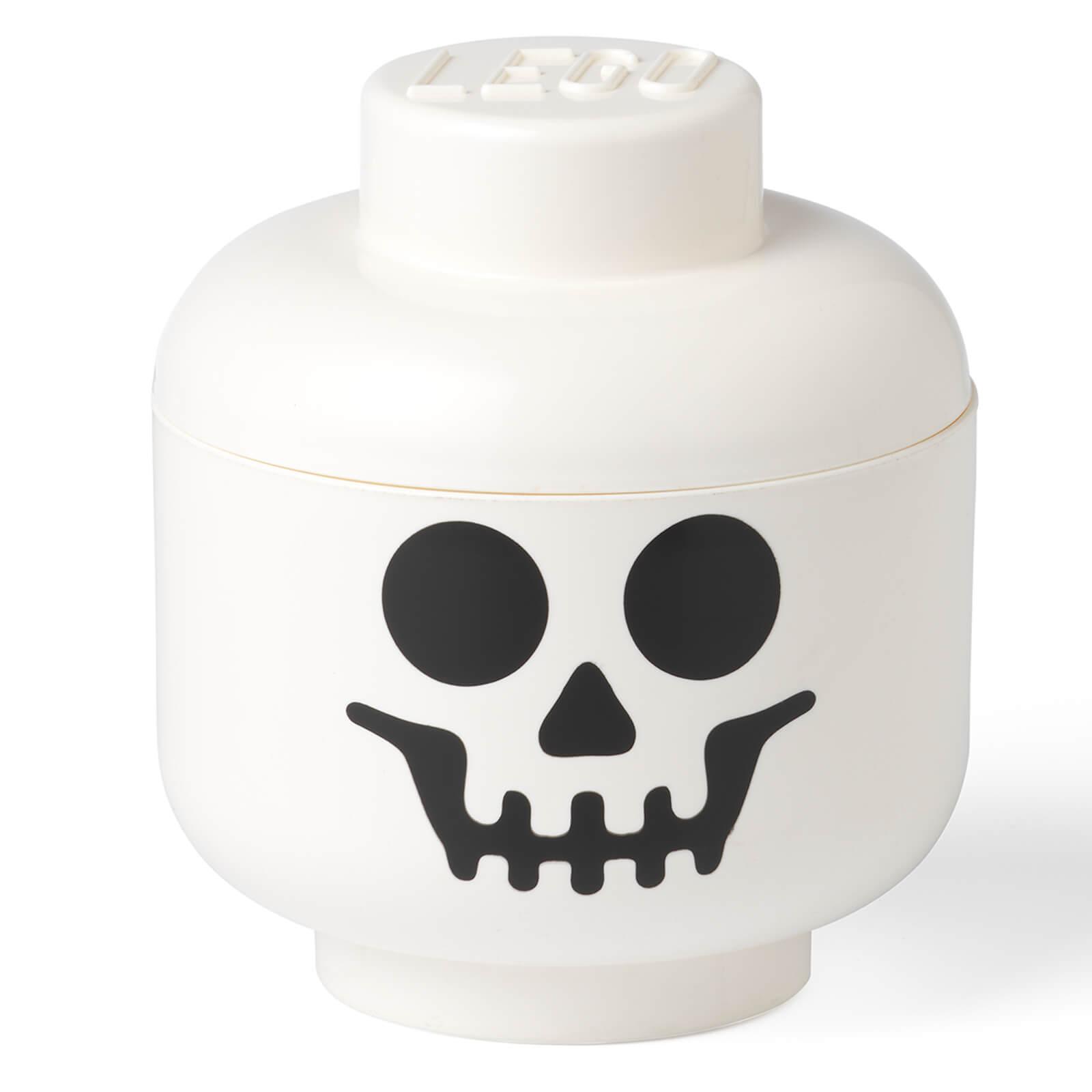 Image of LEGO Storage Skeleton Head - Small