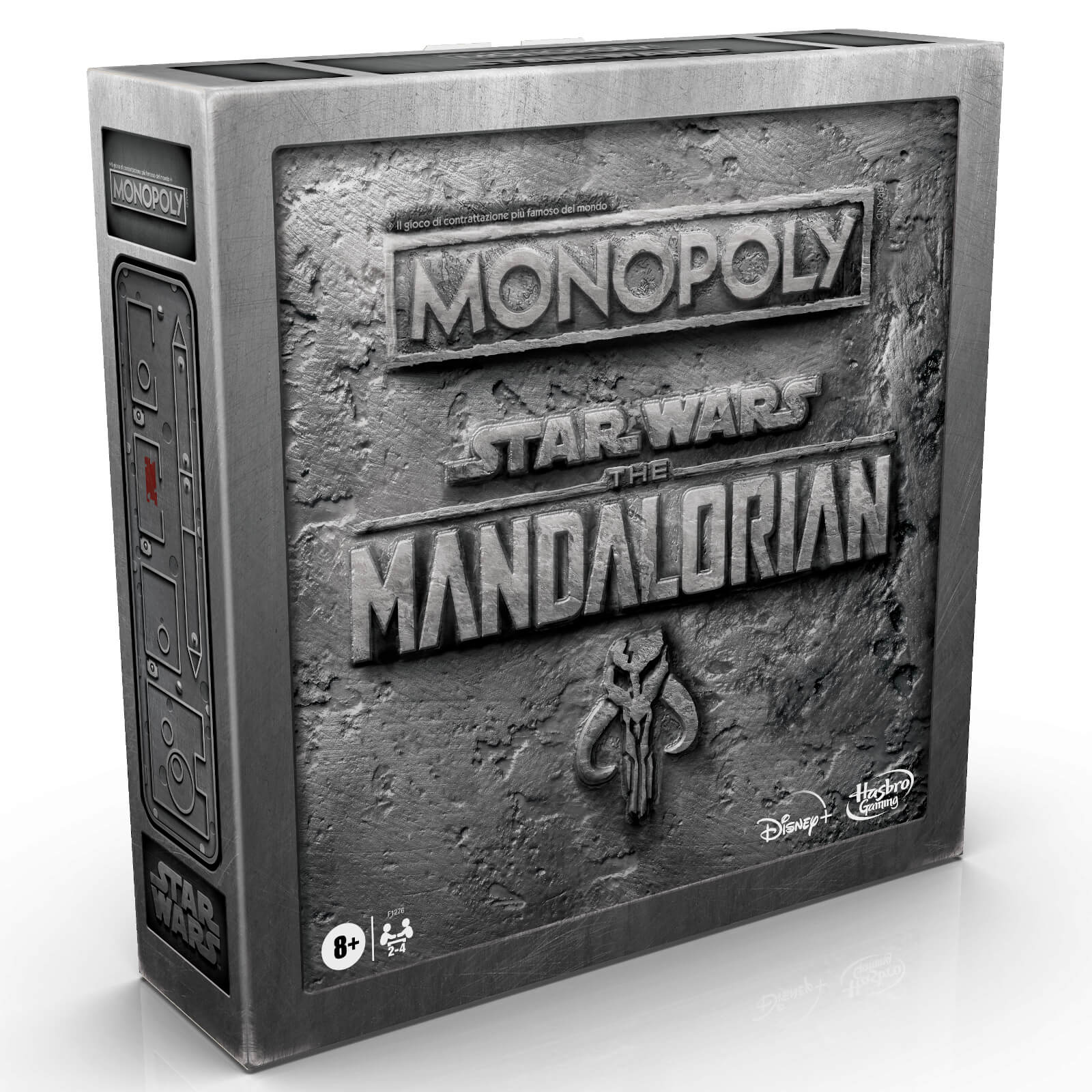 """Image of """"Monopoly: Star Wars The Mandalorian Edition Board Game, Protect The Child ('Baby Yoda') From Imperial Enemies"""""""