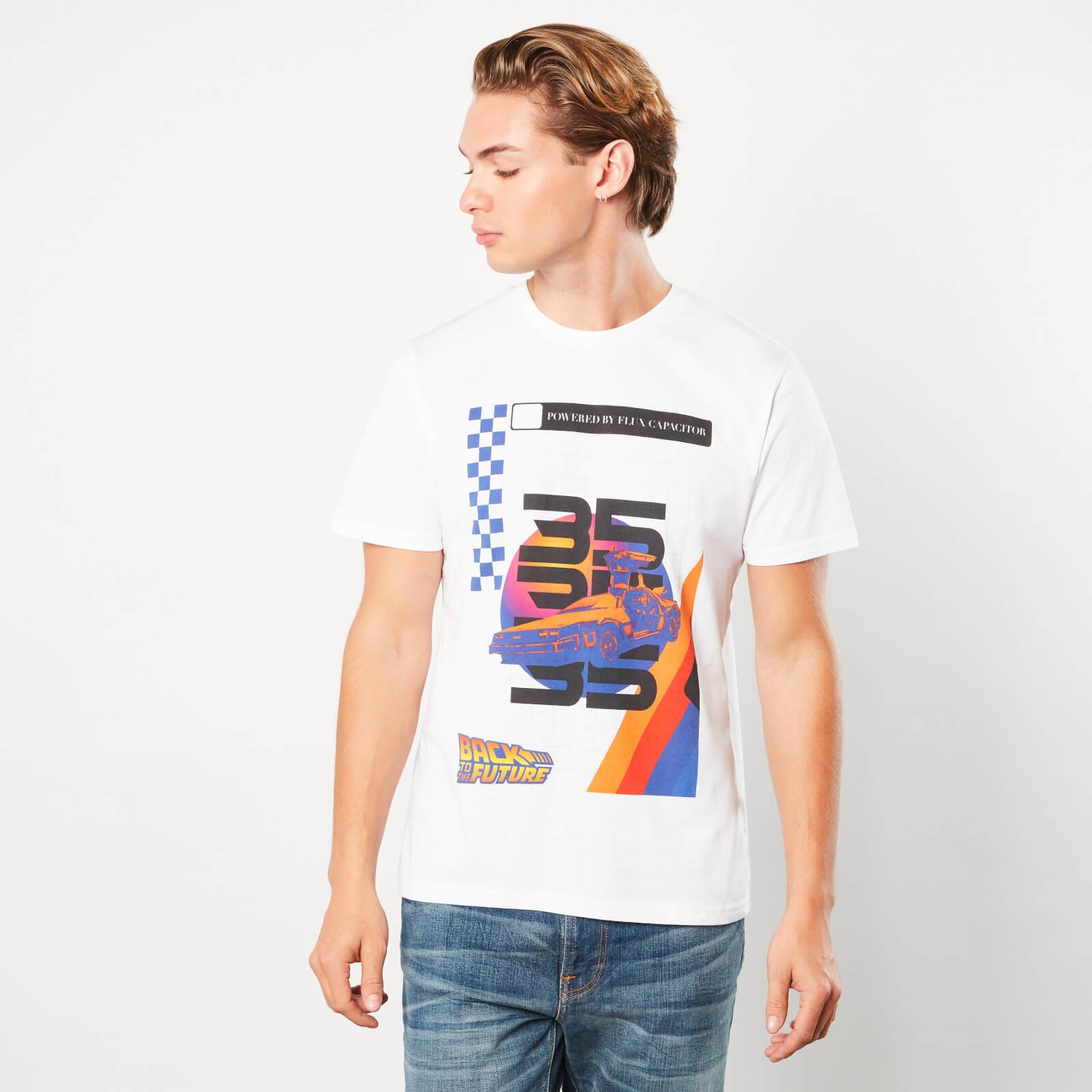 Zurück in die Zukunft PoweRot Car Unisex T-Shirt - Weiß - S - Weiß
