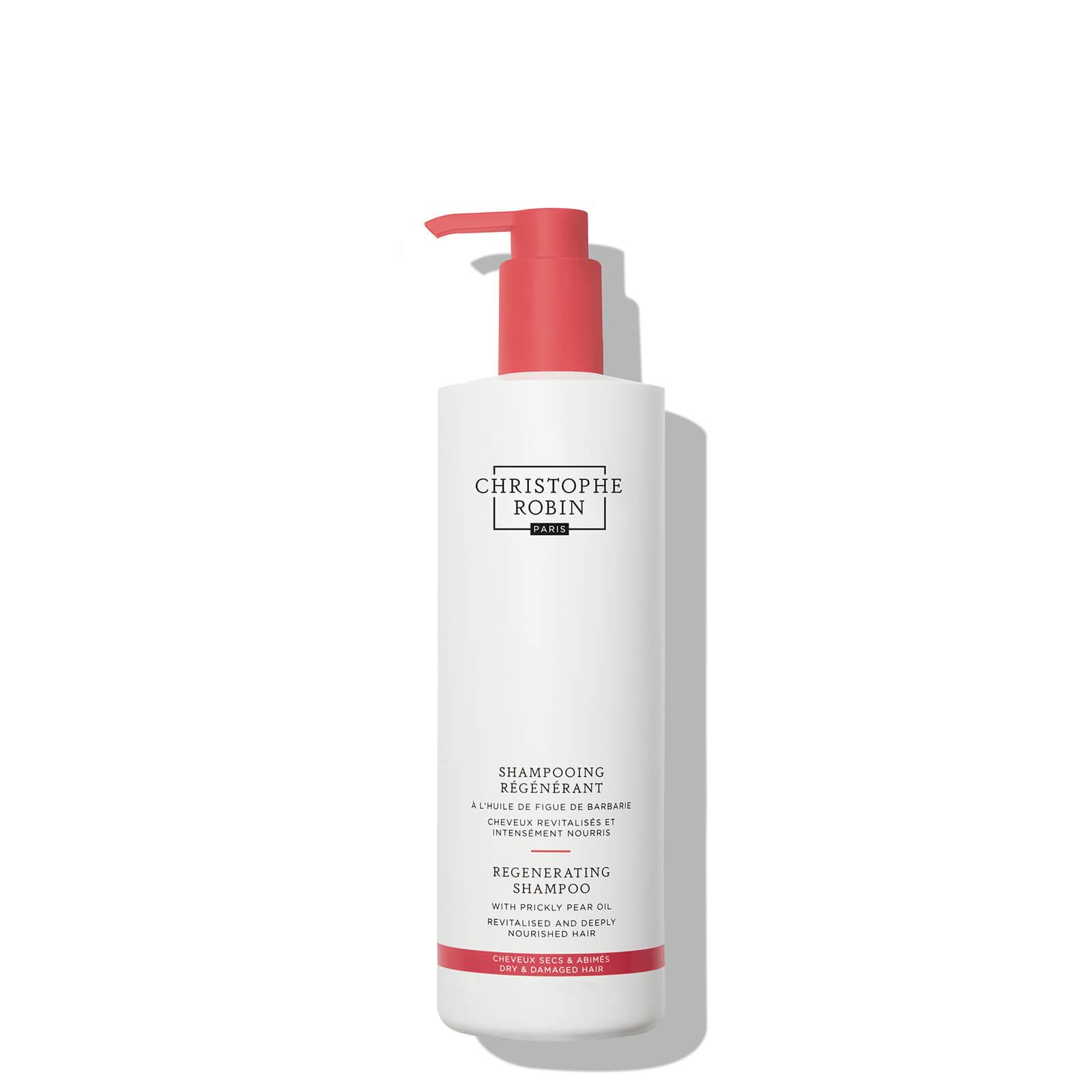 Купить Christophe Robin Regenerating Shampoo with Prickly Pear Oil 500ml
