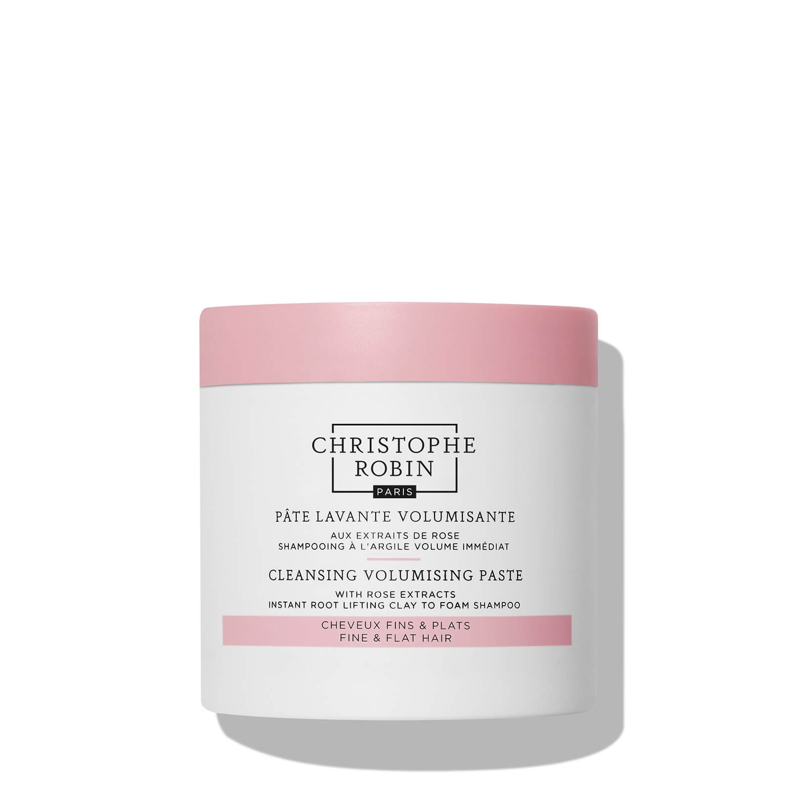 Купить Christophe Robin Cleansing Volumising Paste with Pure Rassoul Clay and Rose 250ml