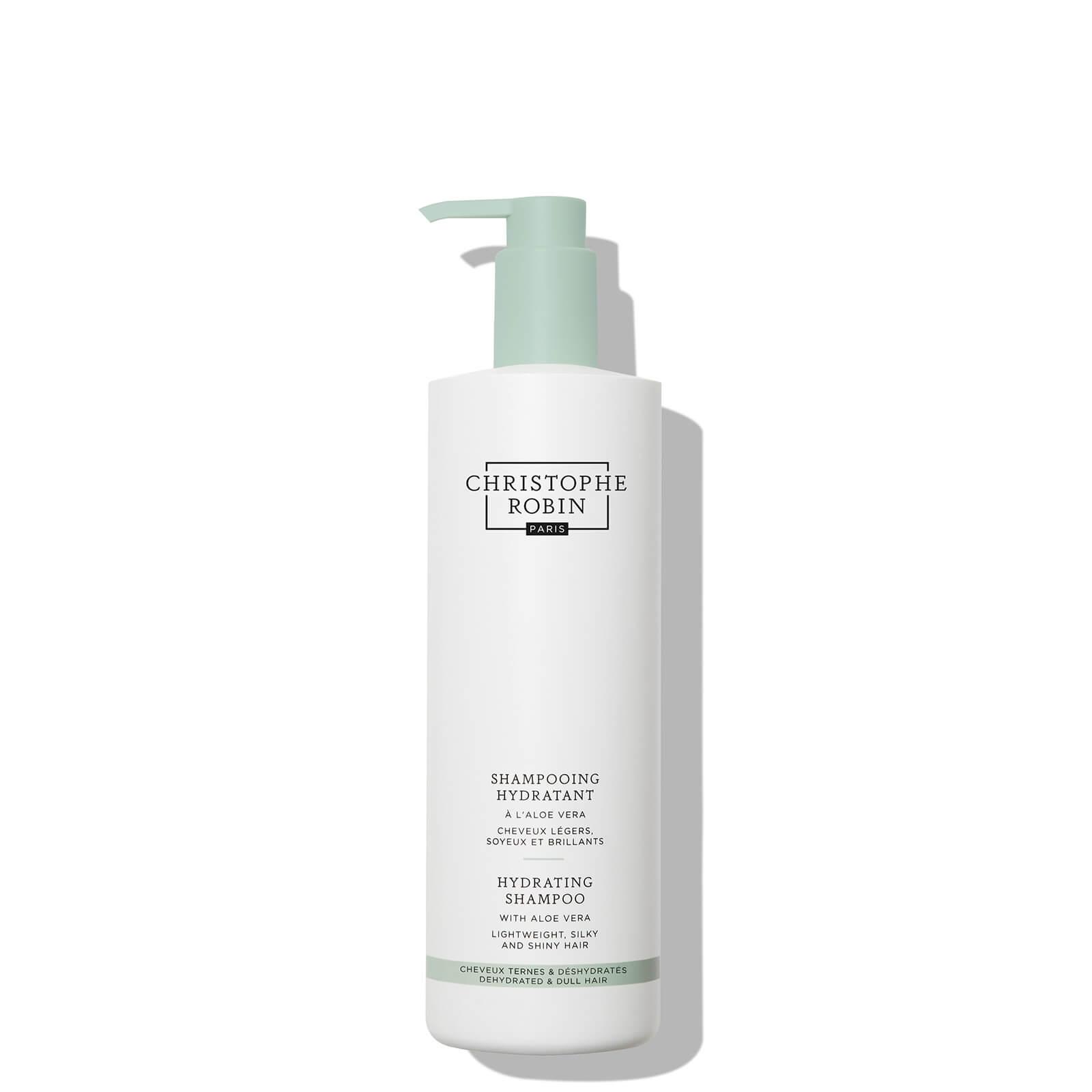 Купить Christophe Robin Hydrating Shampoo with Aloe Vera 500ml