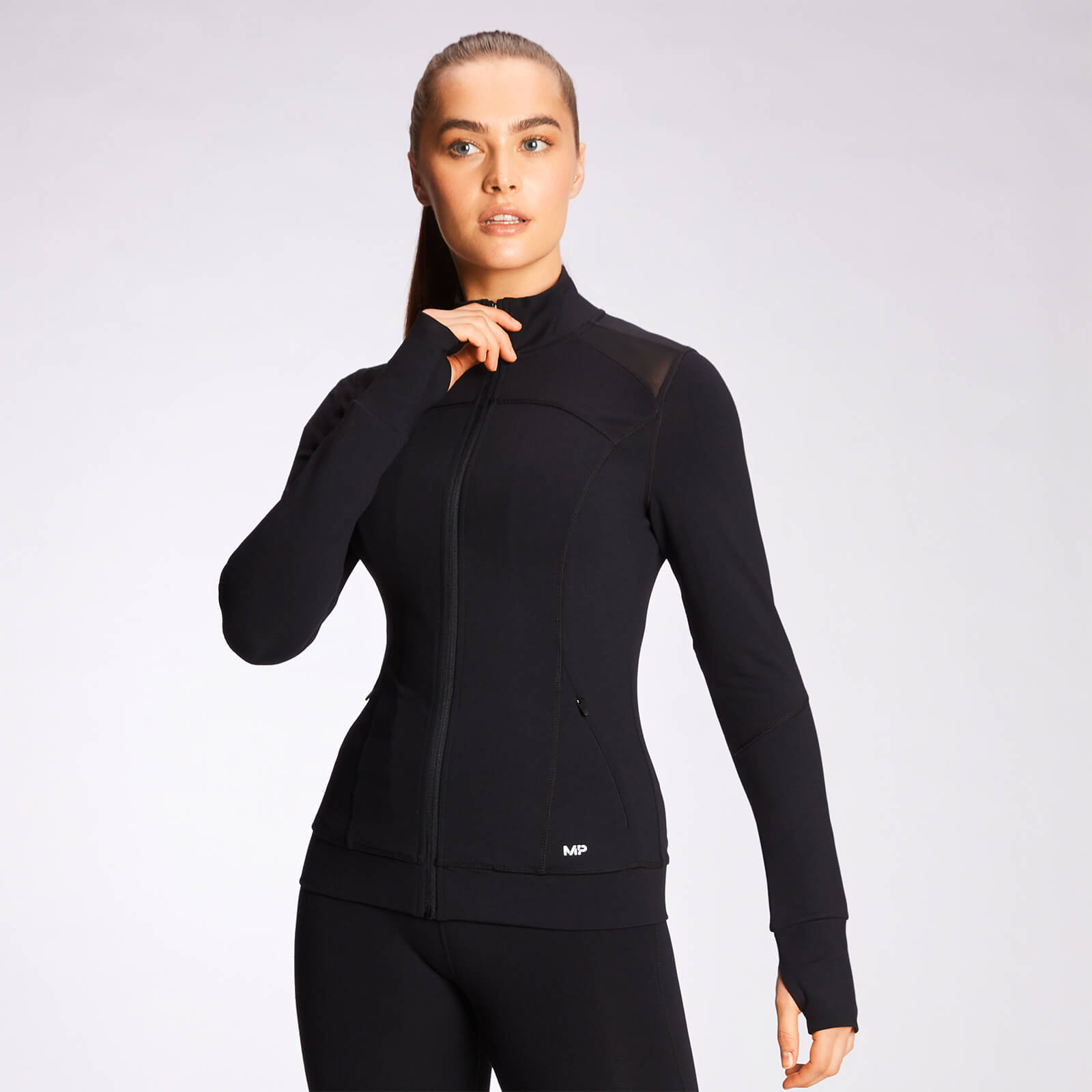 Купить MP Women's Power Mesh Jacket - Black - XXS, Myprotein International