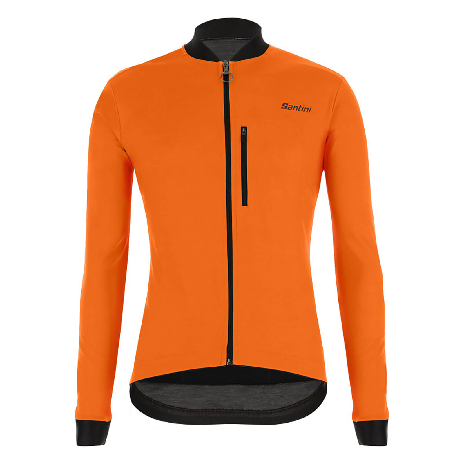Santini Adapt Mid Weight Jacket - S - Fluo Orange