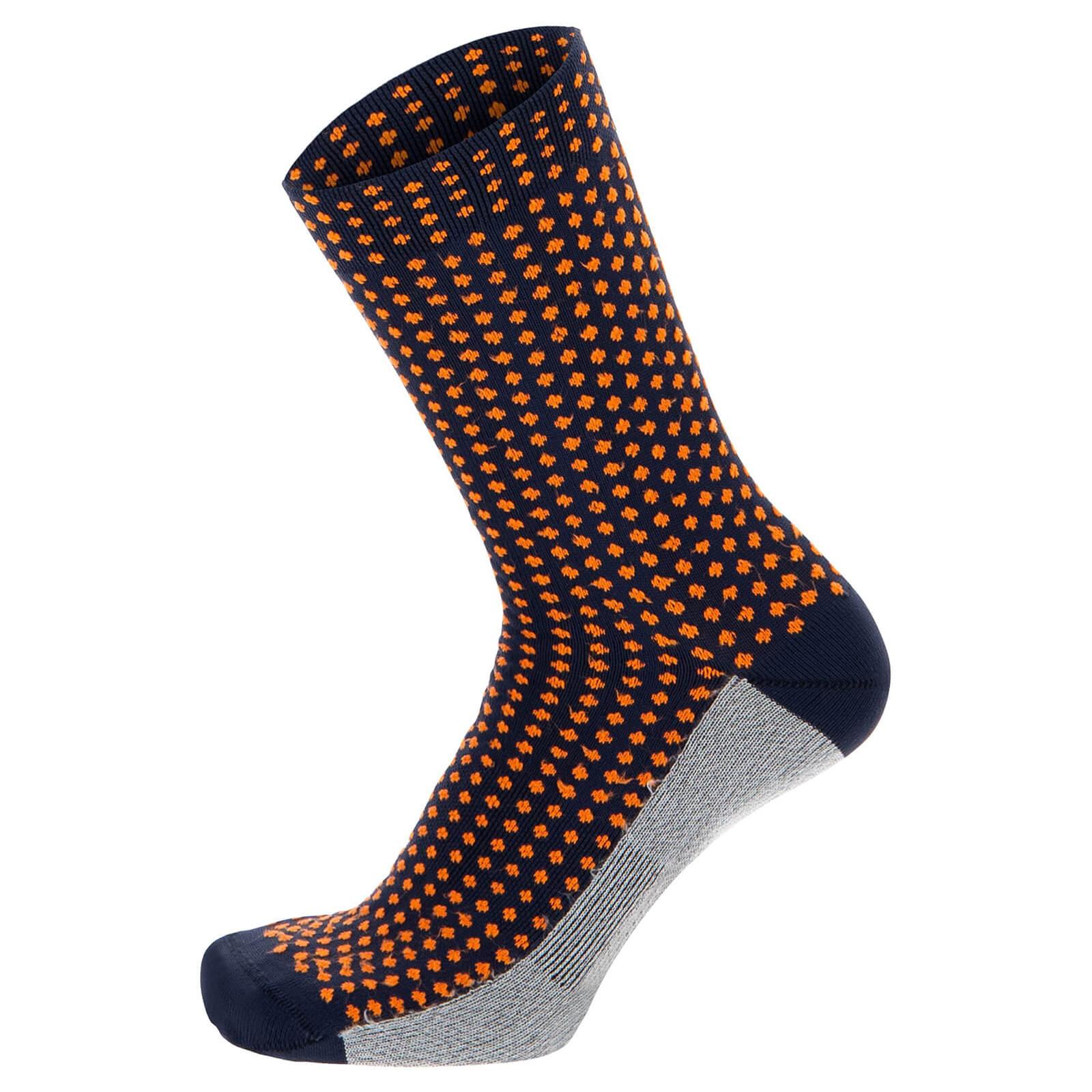 Santini Medium Profile Socks - XS - Nautica Blue