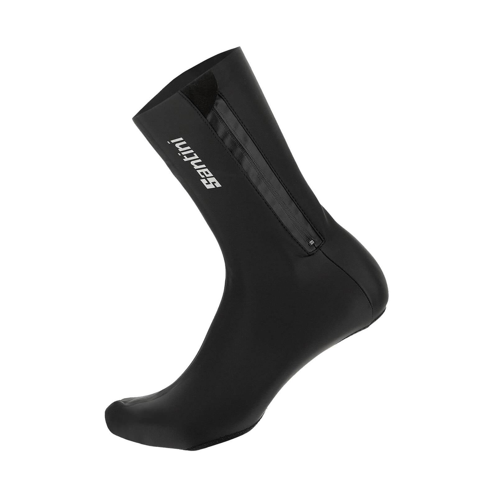Santini Weatherproof Performance Overshoes - Black - XL