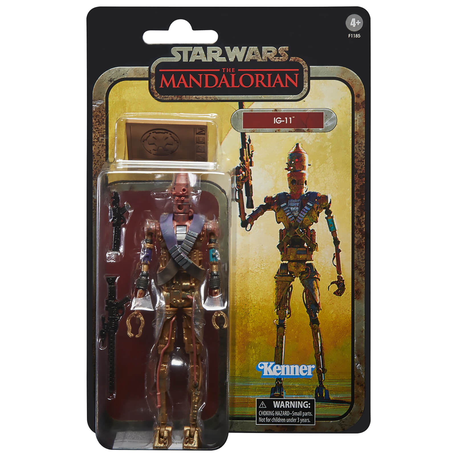 Image of Hasbro Star Wars The Black Series The Mandalorian IG-11 Action Figure