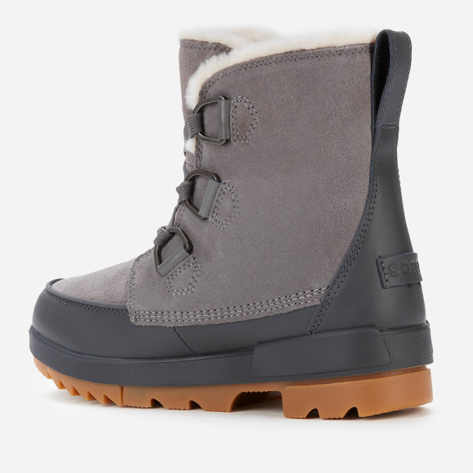 Sorel Women's Torino Ii Waterproof Suede Shell Boots - Quarry - Uk 3