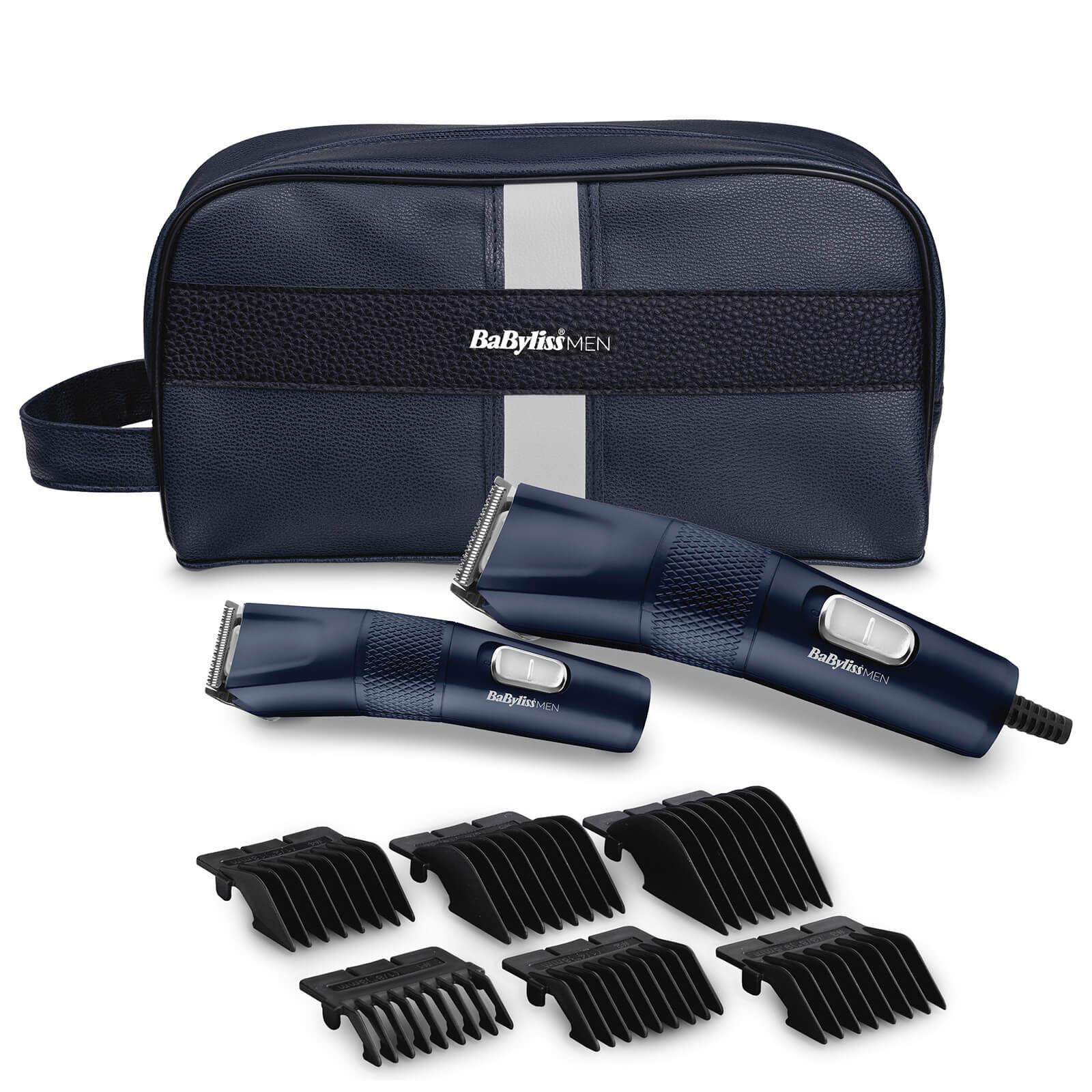 babylissmen the blue edition hair clipper gift set