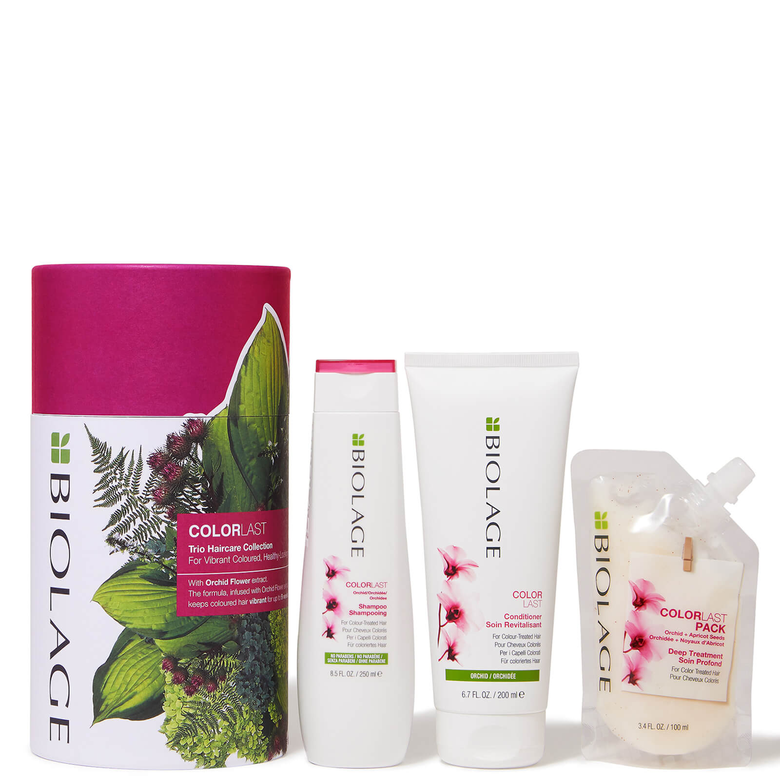 Biolage ColorLast Trio Gift Set Collection for Coloured Hair (Worth £39.80)