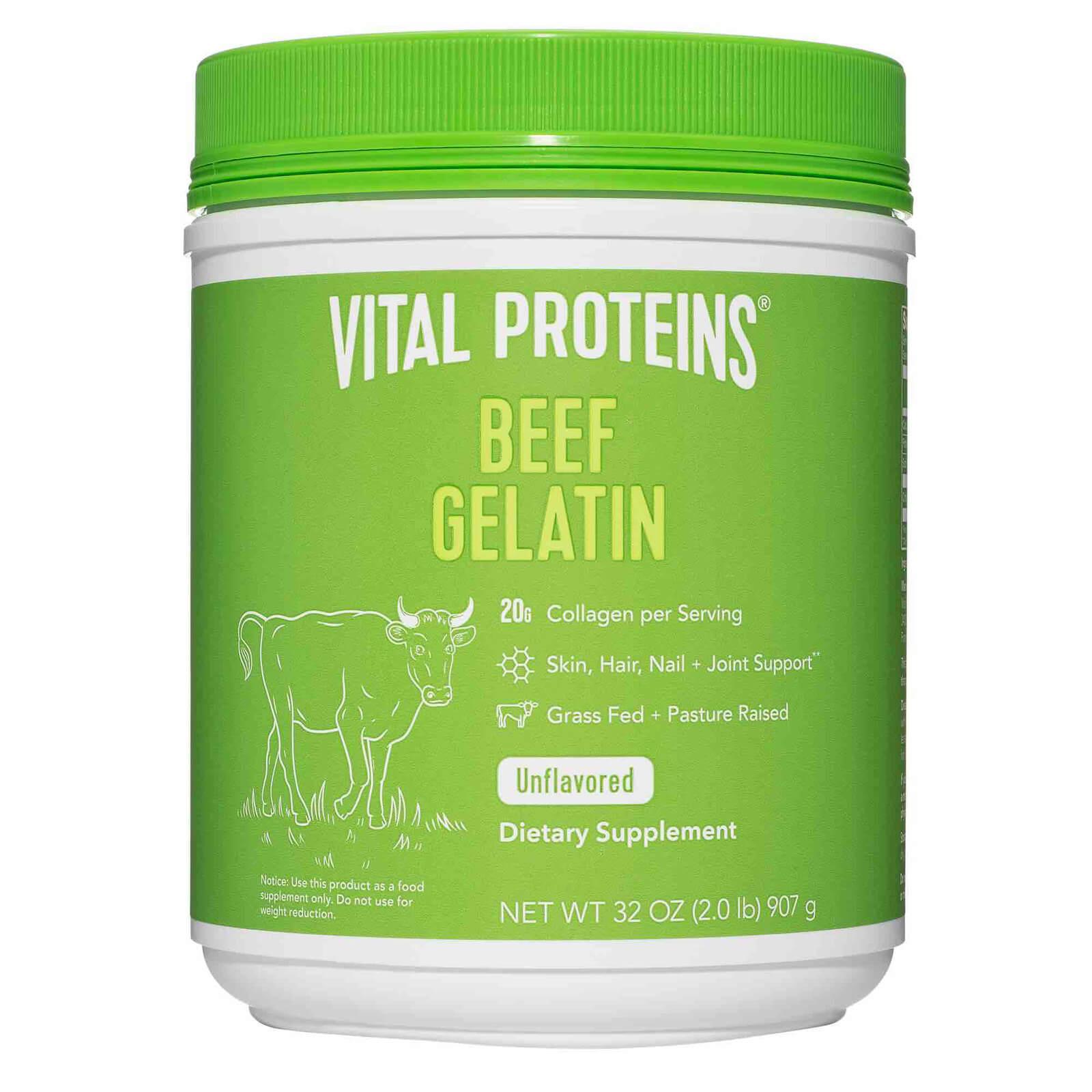 Beef Gelatin Powder (Bovine Gelatin) - Unflavoured 907g