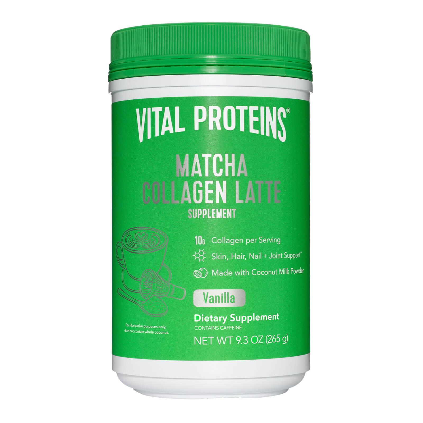Matcha Collagen Latte Powder - Vanilla 265g