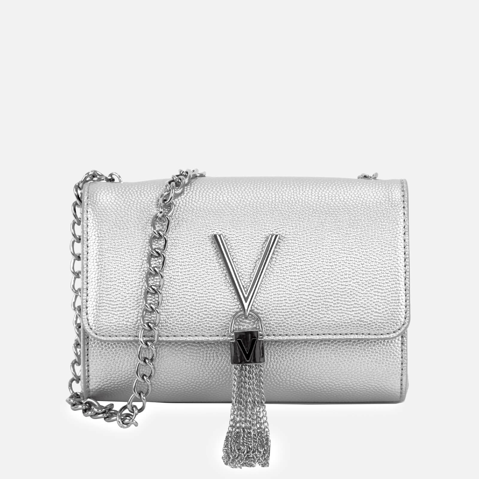 Valentino Bags Women's Divina Small Shoulder Bag - Silver