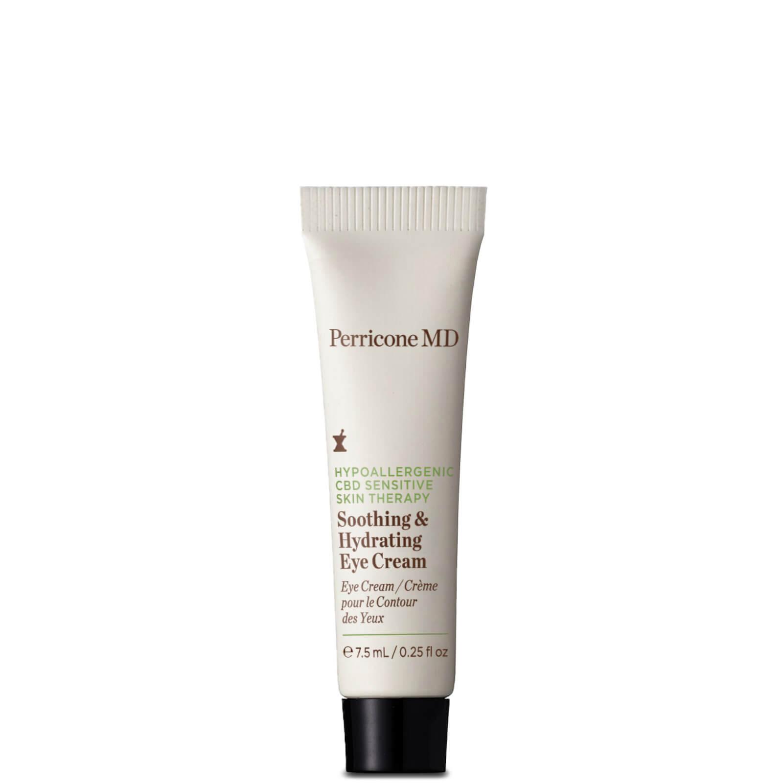 Hypoallergenic CBD Sensitive Skin Therapy Soothing & Hydrating Eye Cream (.25 oz)