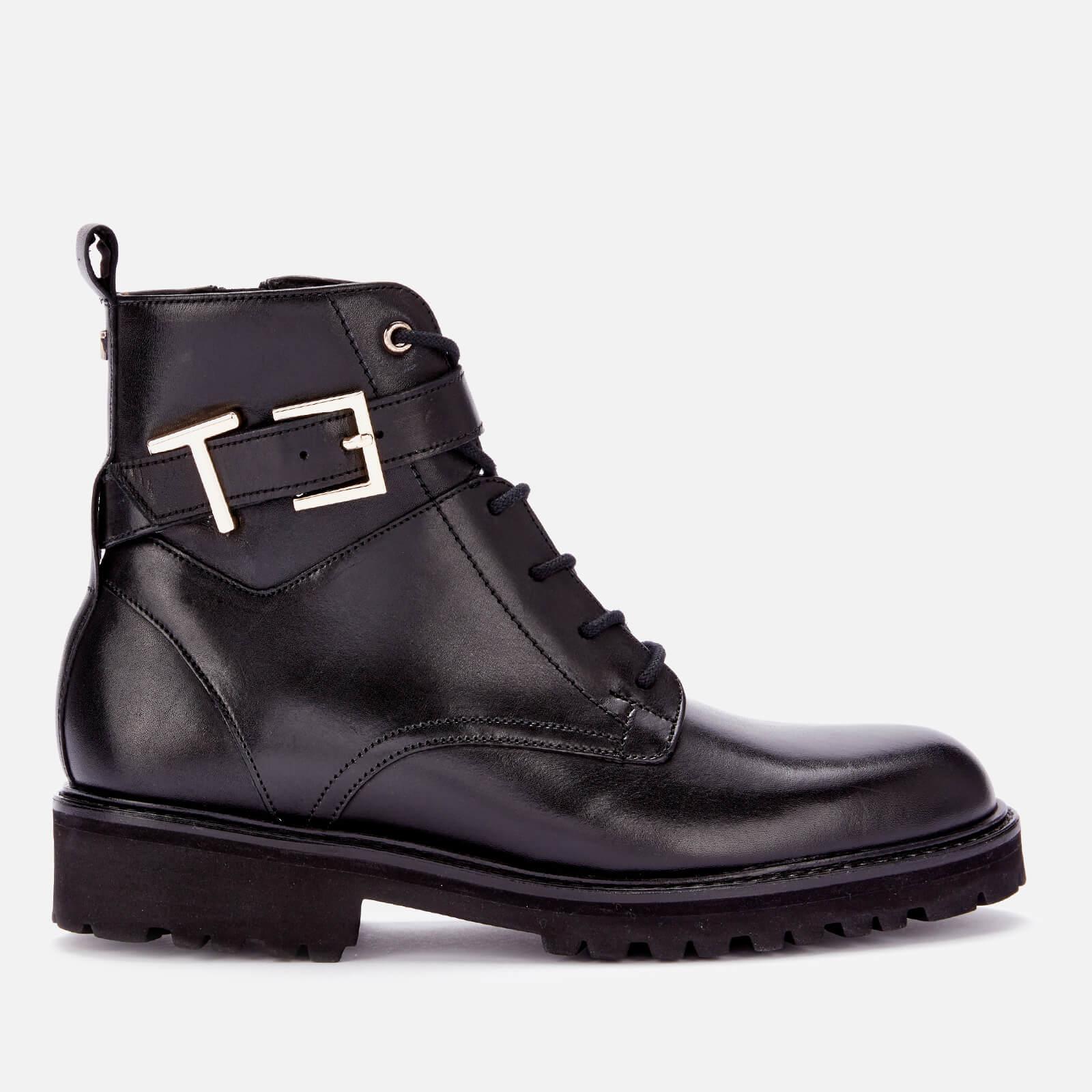 Ted Baker Women's Raign T Biker Boots - Black - Uk 6