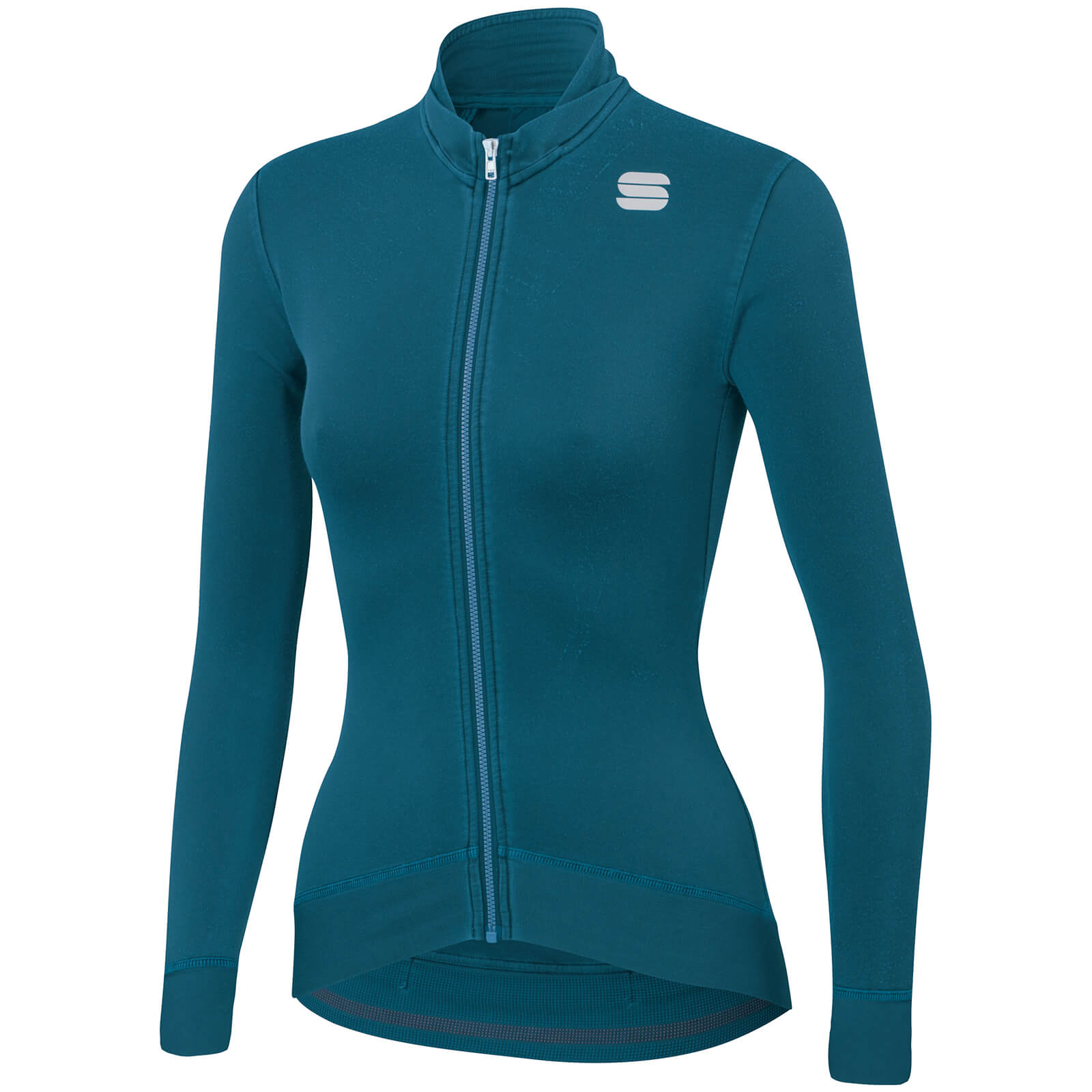 Sportful Women's Monocrom Thermal Jersey - M - Blue Corsair