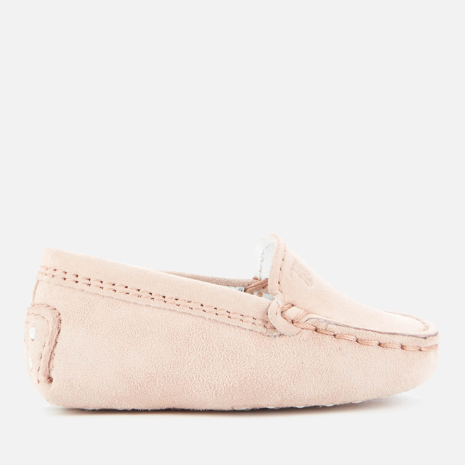 Tod's Babies' Suede Loafers - Pink - UK 0 Infant