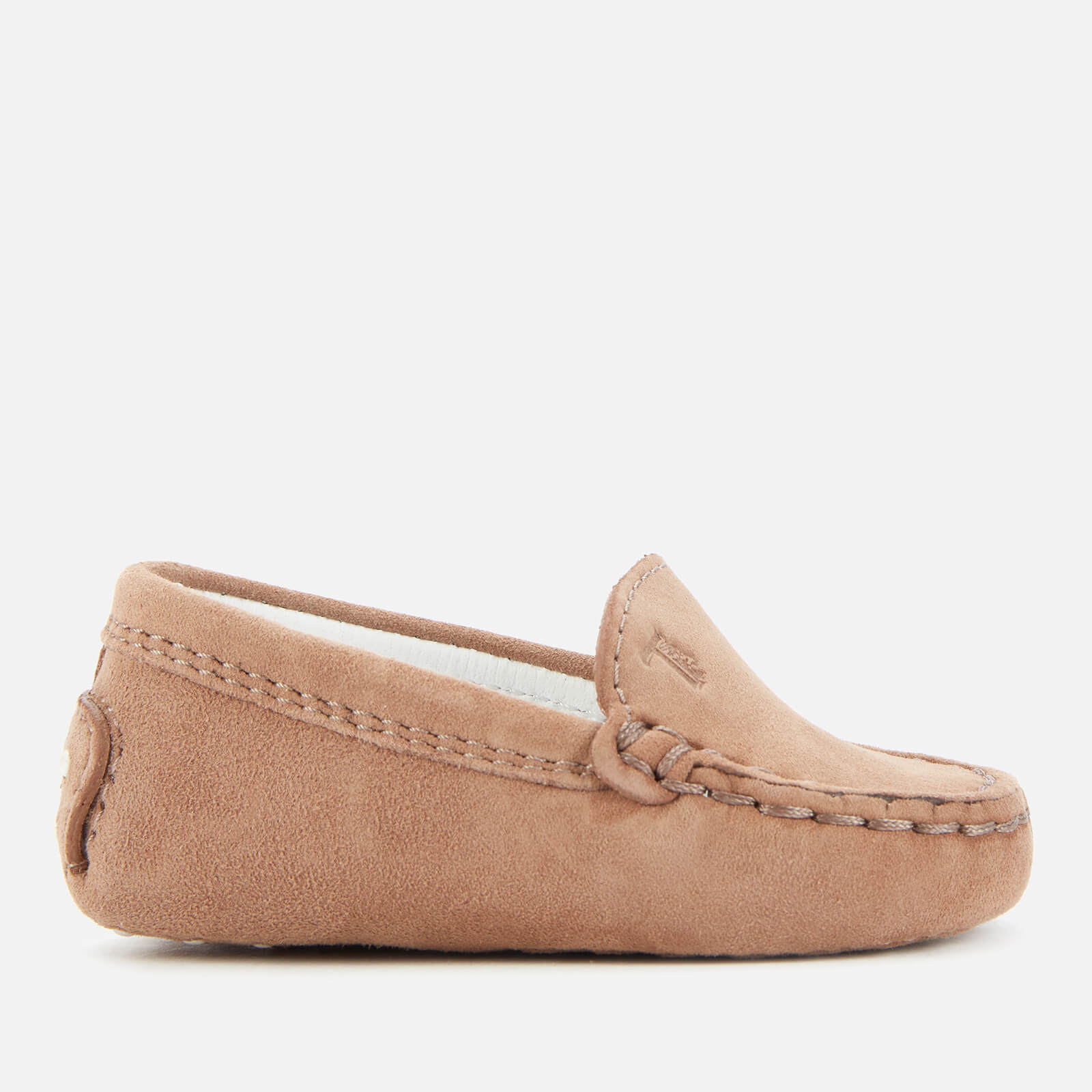Tod's Babies' Suede Loafers - Beige - UK 0 Infant