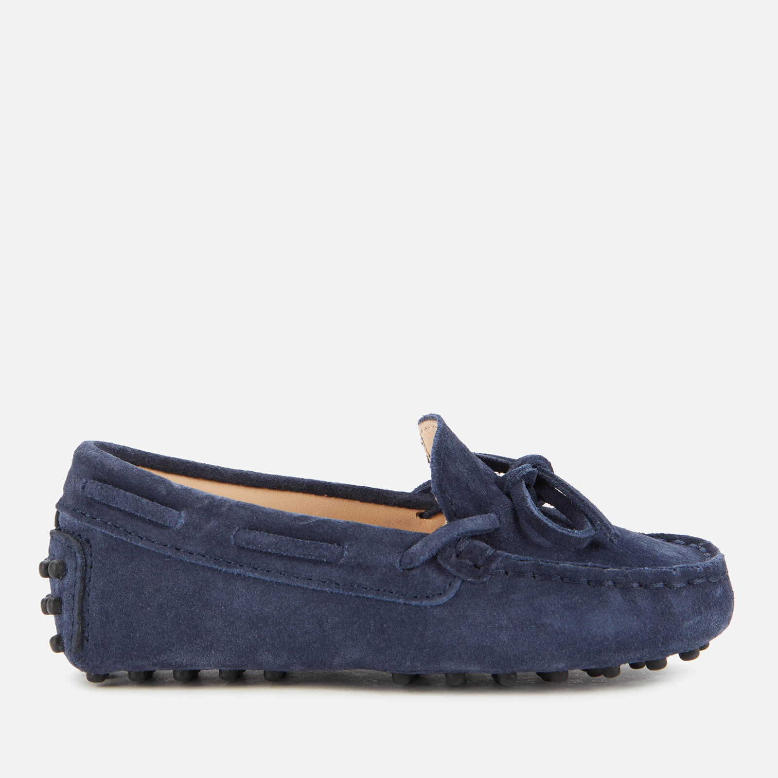 Tod's Toddlers' Suede Loafers - Navy - UK 5 Toddler