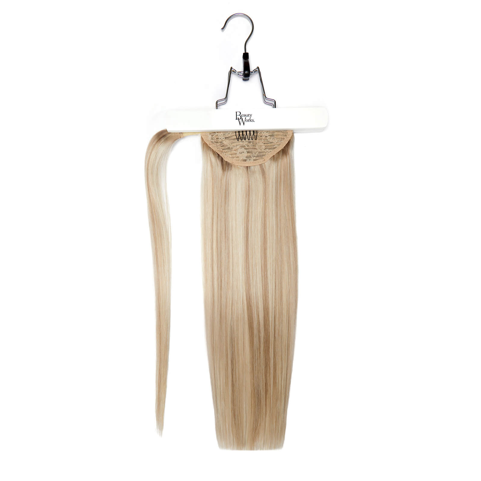 Beauty Works Invisi Pony 18 Inch Iced Blonde