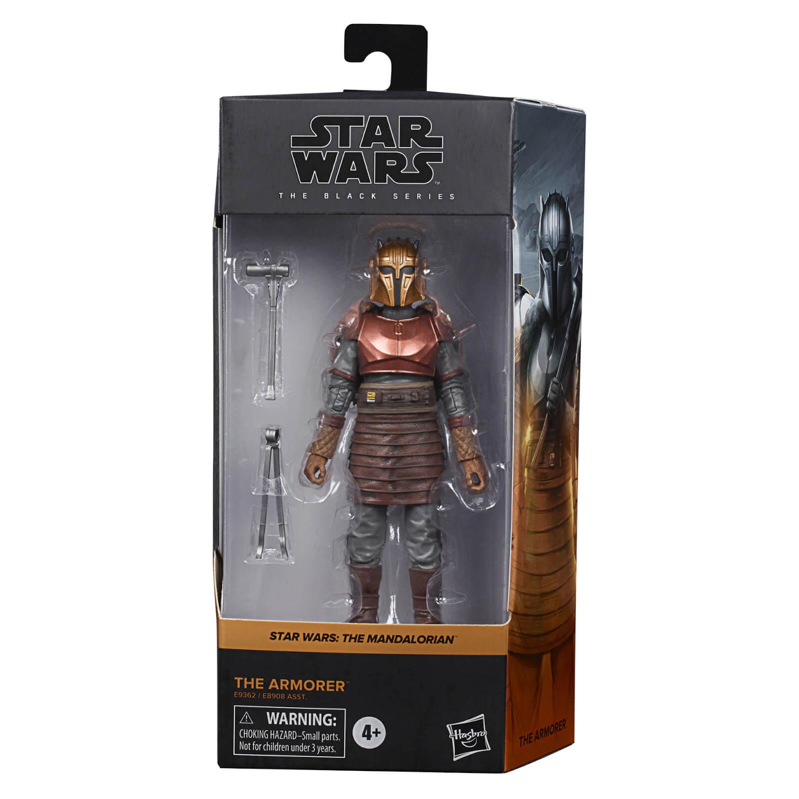 Image of Hasbro Star Wars The Mandalorian Black Series Armorer Action Figure