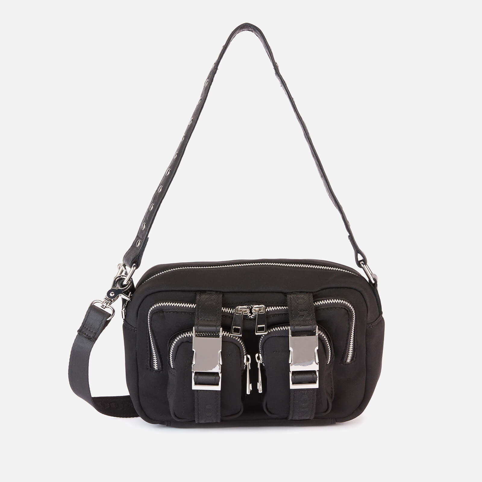 Núnoo Women's Ellie Scuba Cross Body Bag - Black
